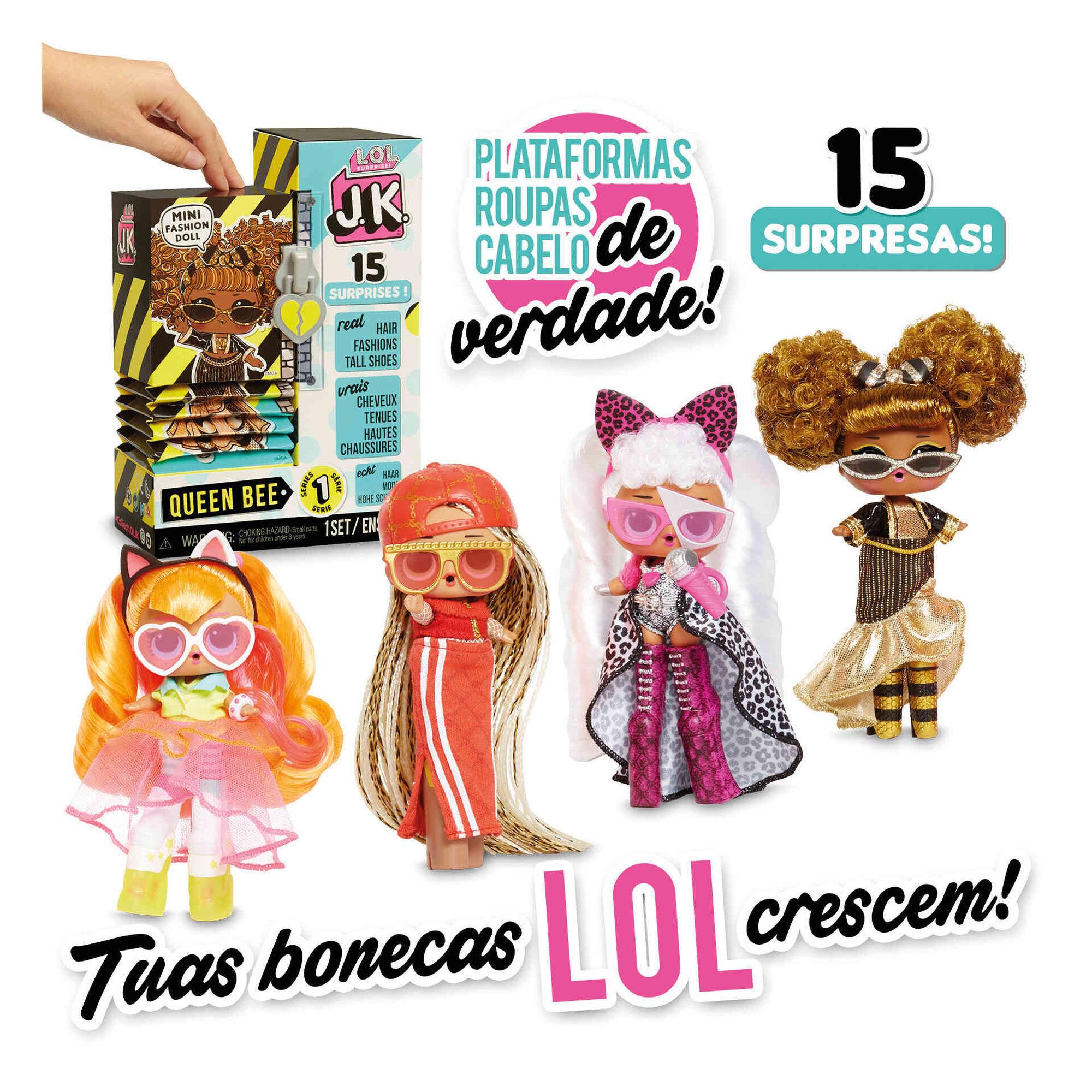 Boneca L.O.L. Surprise! Fashion J.K. (vários modelos)