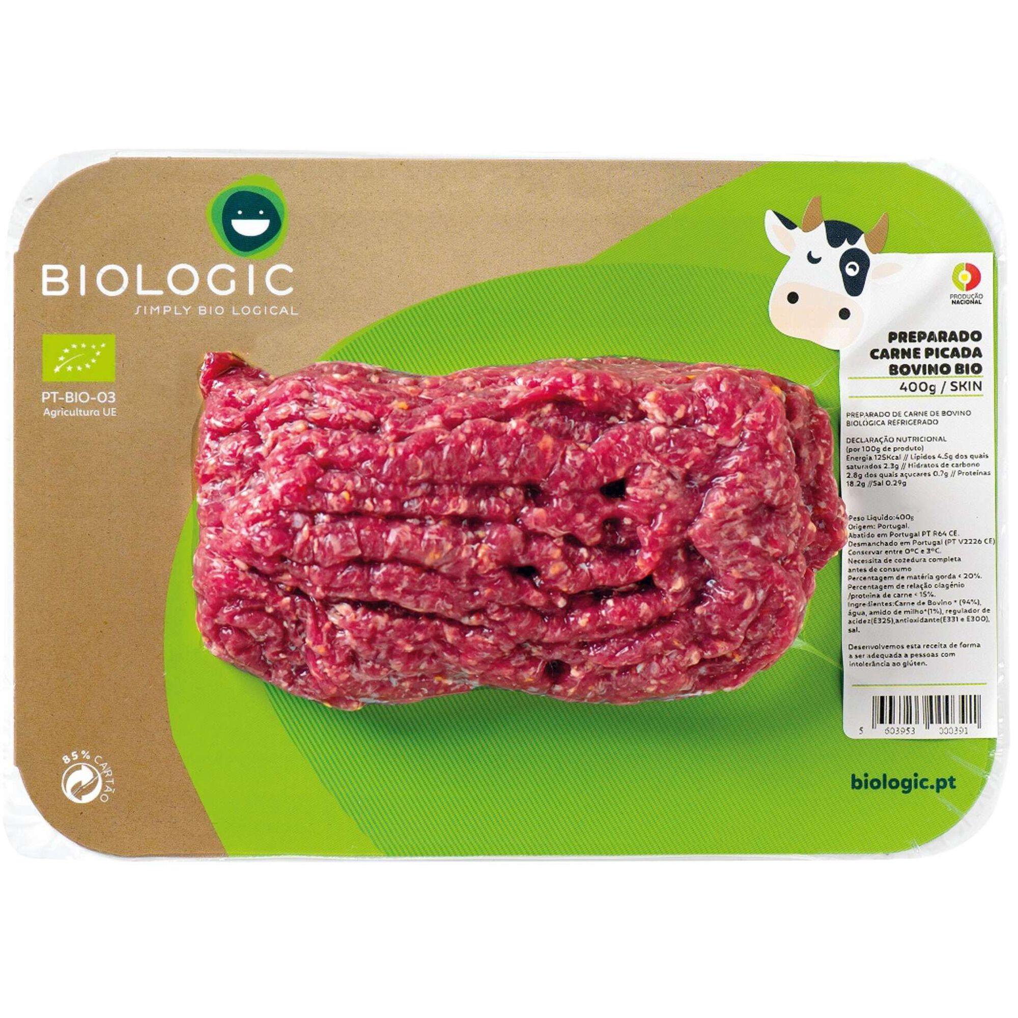 Carne Picada Bovino Biológica