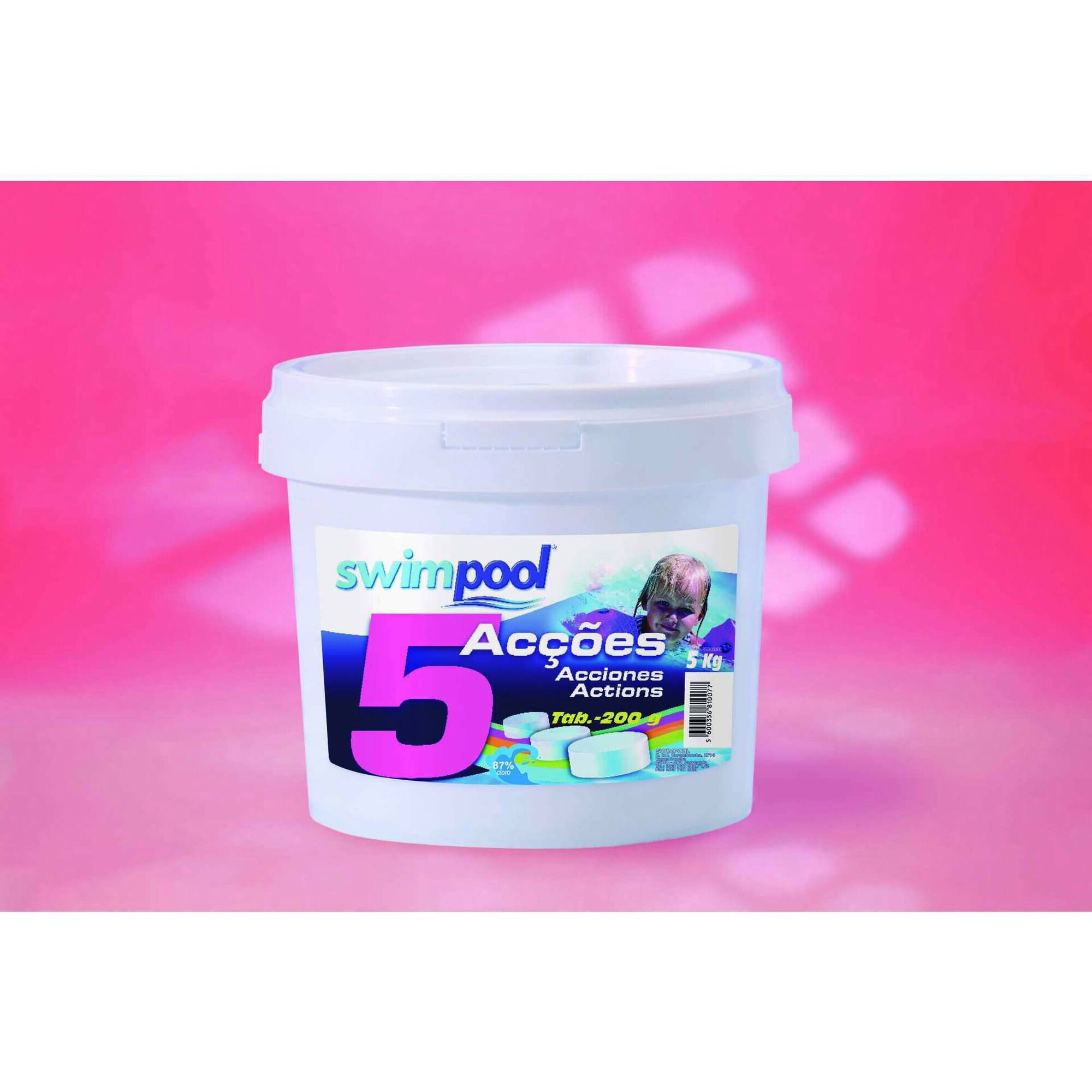 Desinfetante Cloro 5 Ações 5kg