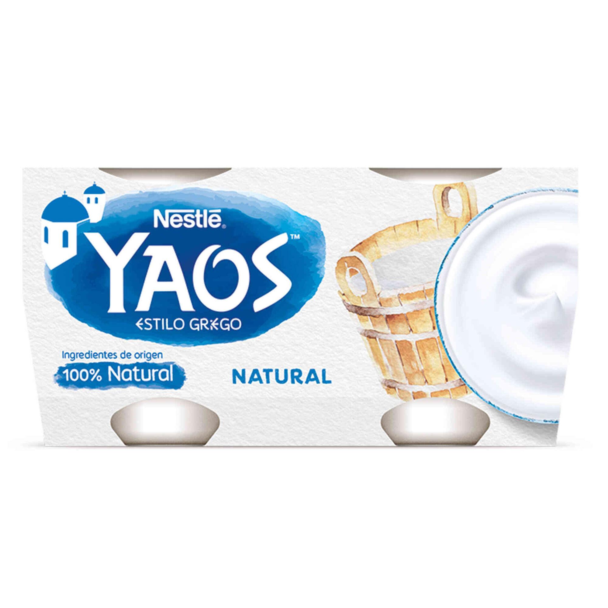 Iogurte Magro Grego Yaos Natural