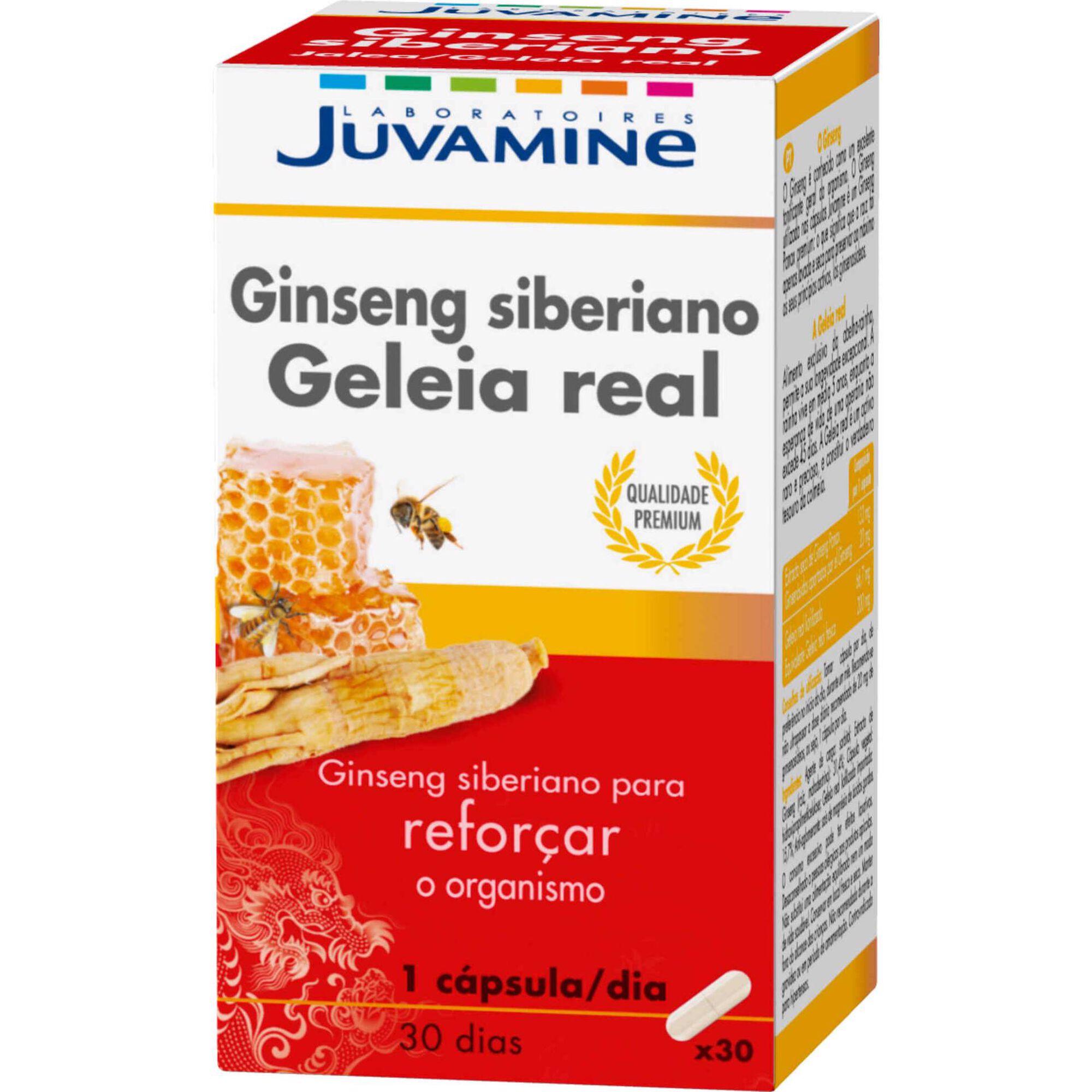 Ginseng  Siberiano Geleia Real
