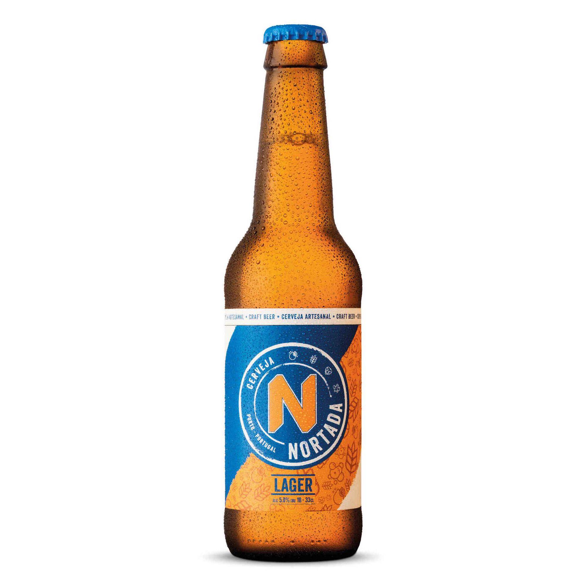 Cerveja com Álcool Lager Garrafa