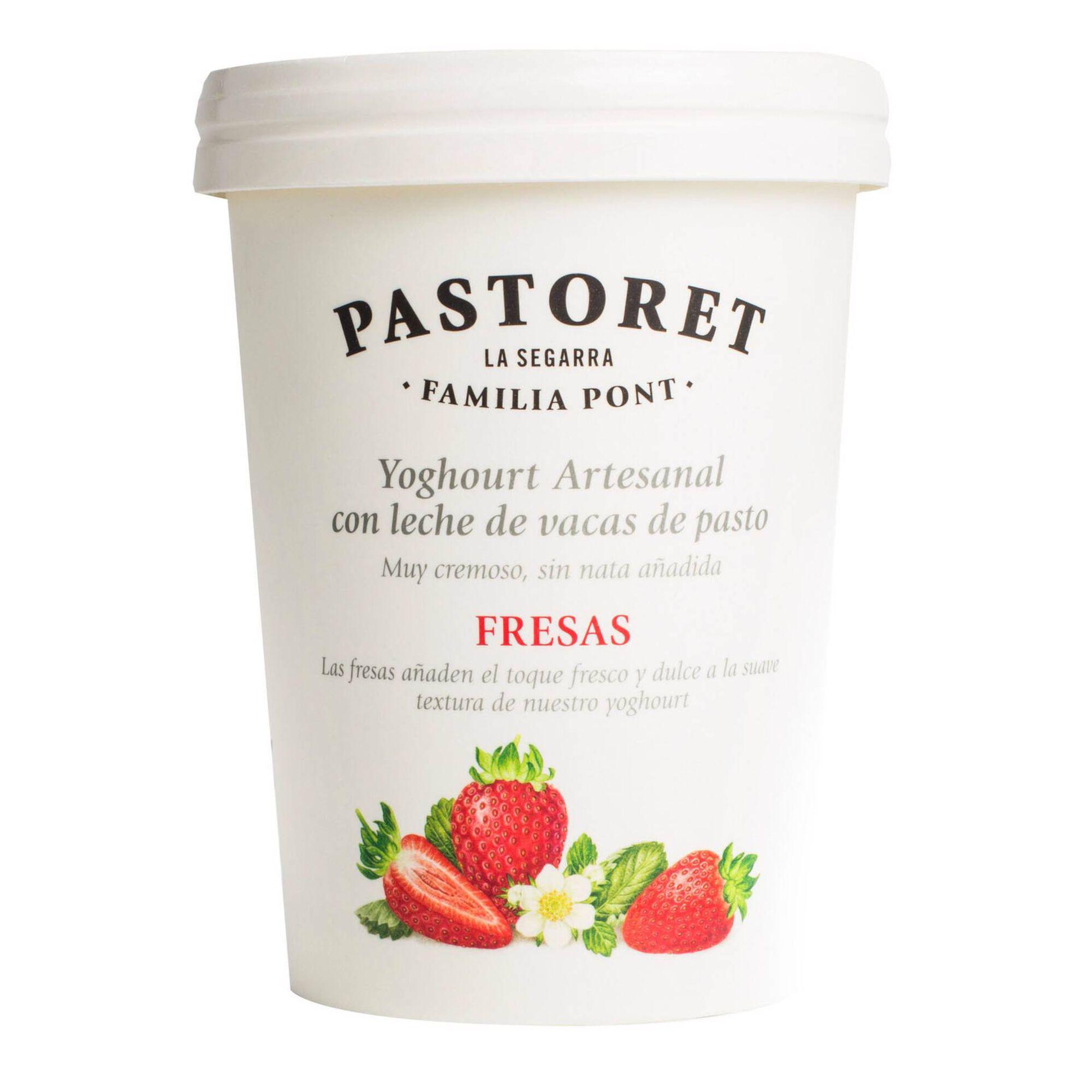 Iogurte Artesanal Aroma Morango