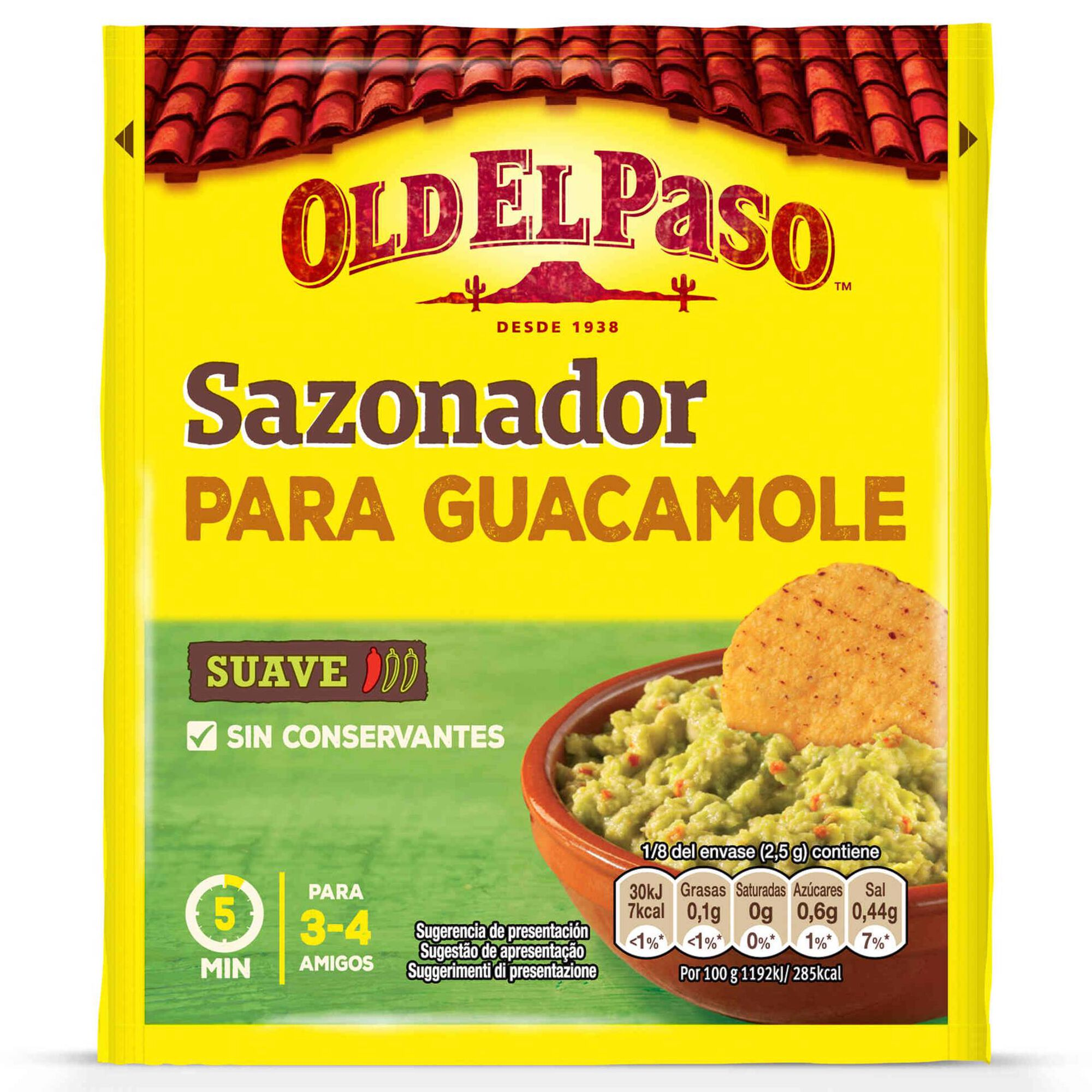 Mistura de Condimentos para Guacamole