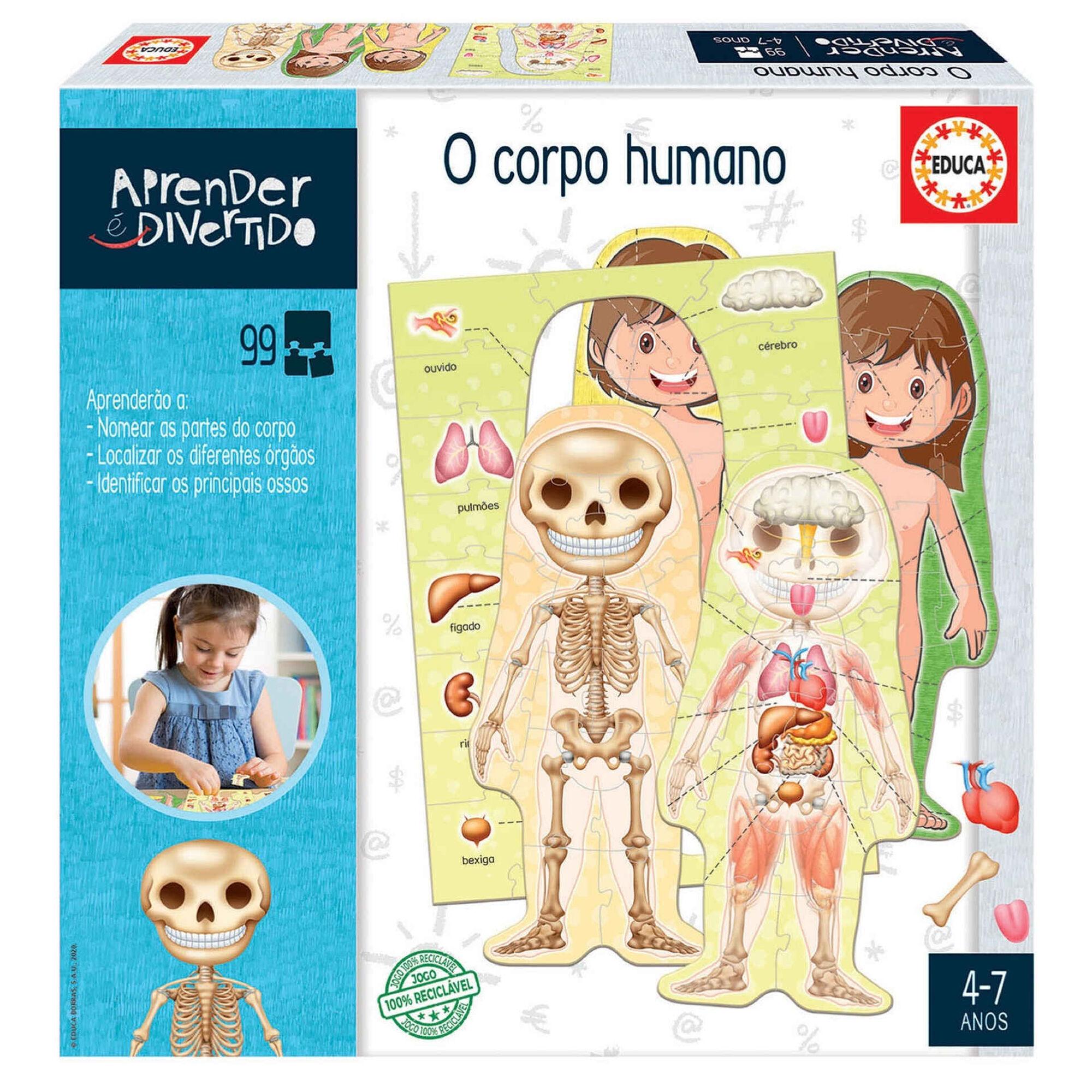 Puzzle O Corpo Humano