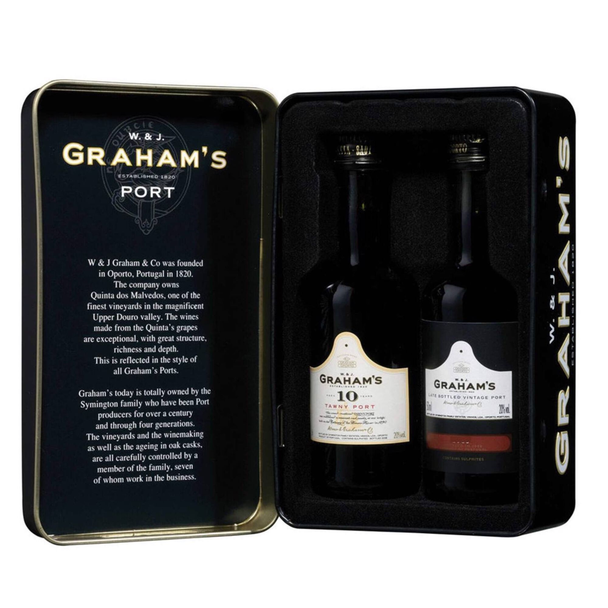 Graham's Vinho do Porto Conjunto Late Bottled Vintage e Tawny 10 Anos