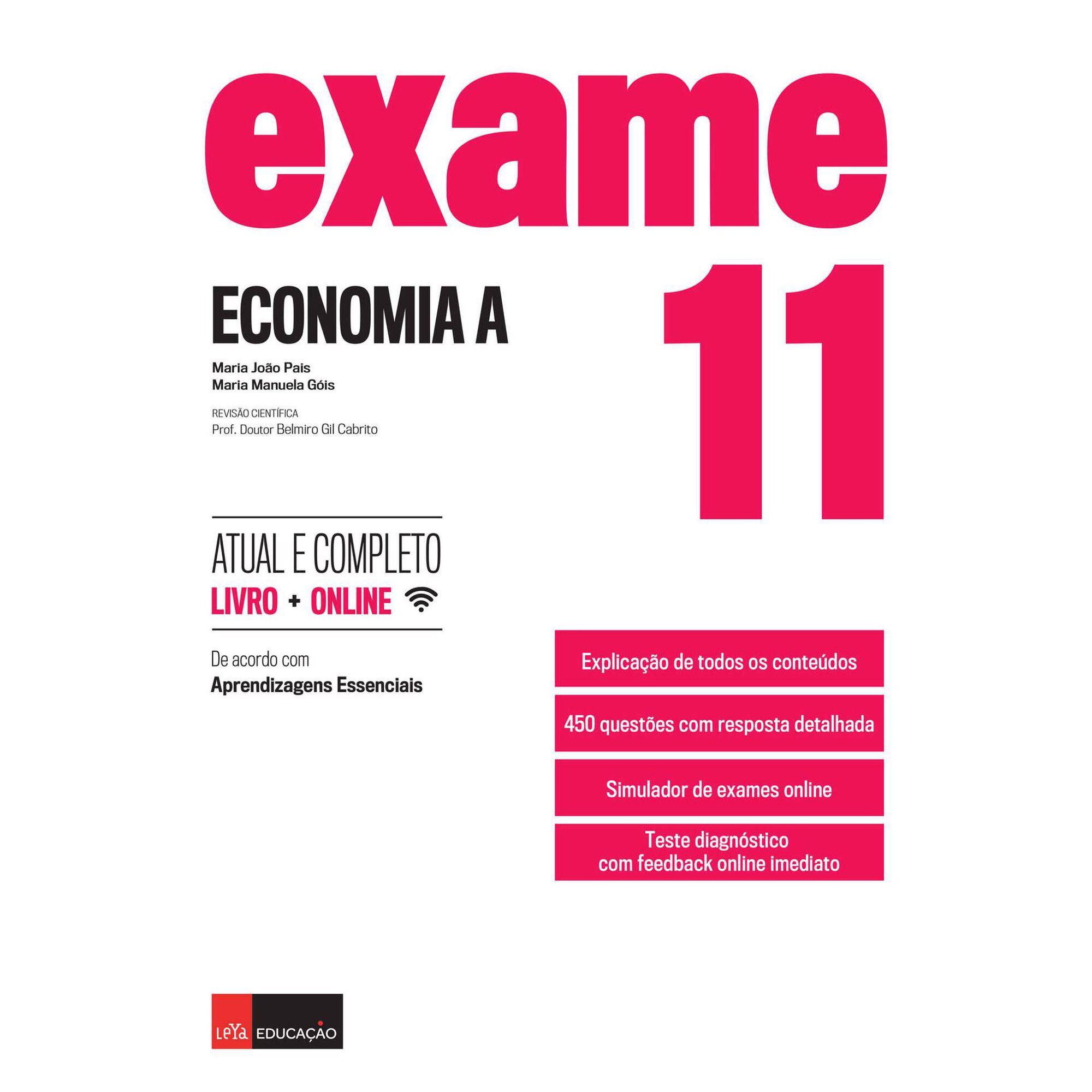 Exame - Economia A 11º - Ano