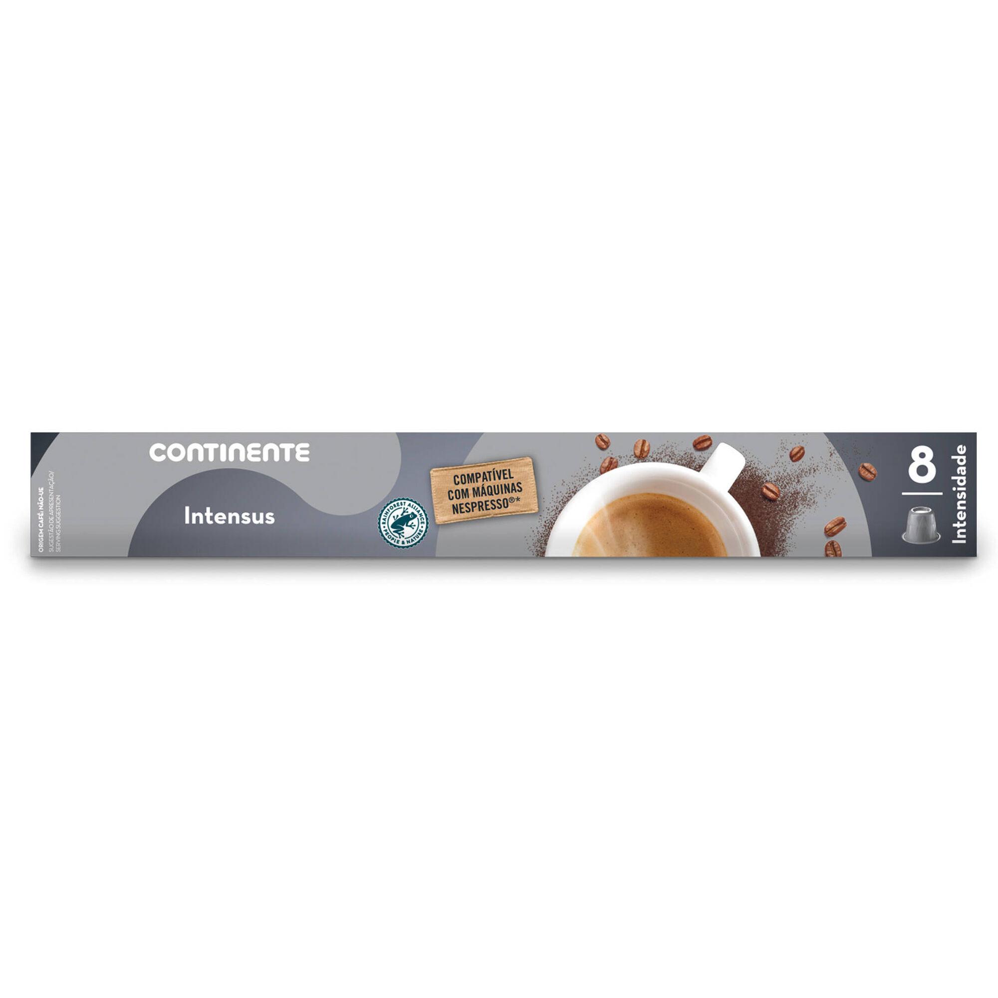 Cápsulas de Café Intenso Compatível com Nespresso Int 8