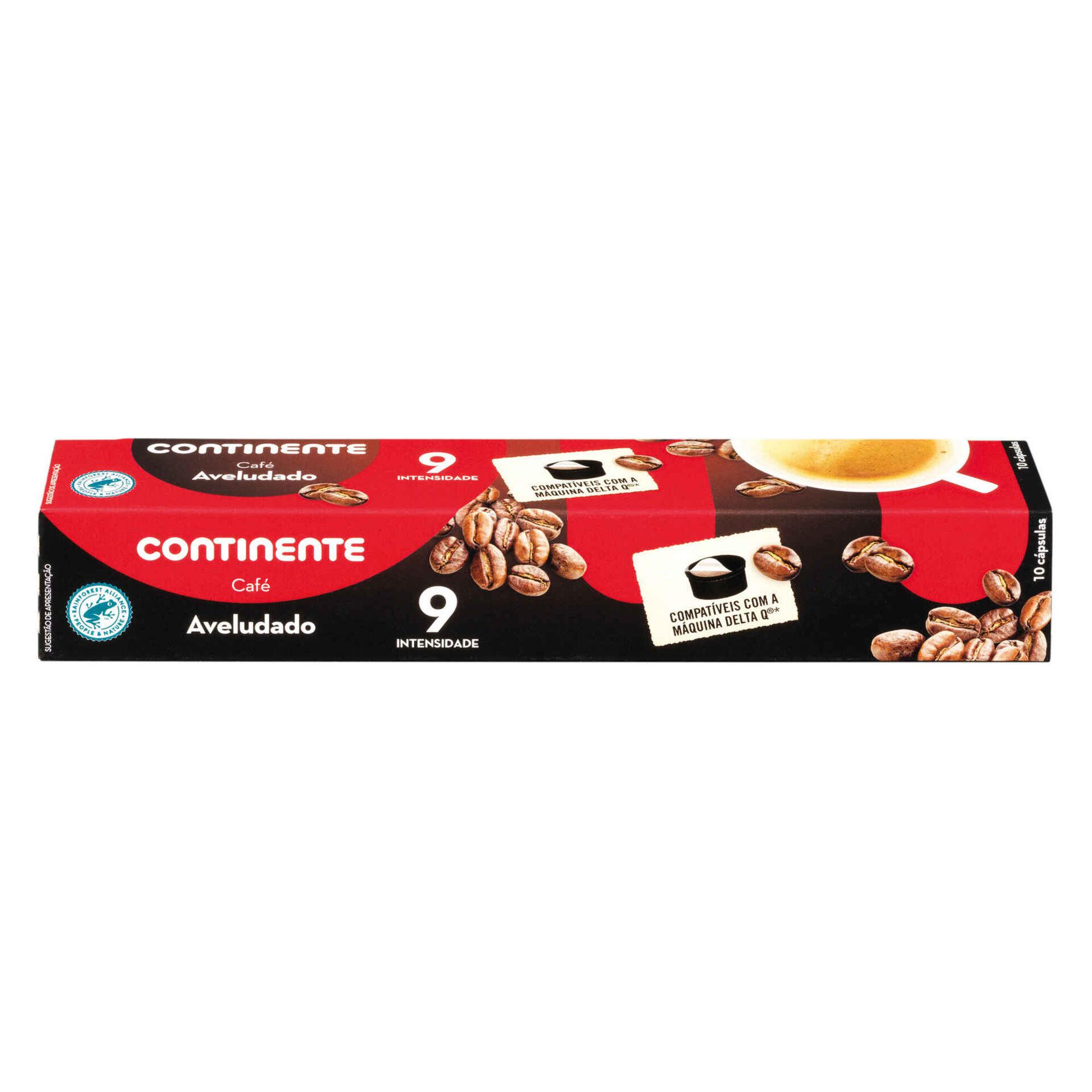 Cápsulas de Café Aveludado Compatível com Delta Q Int 9