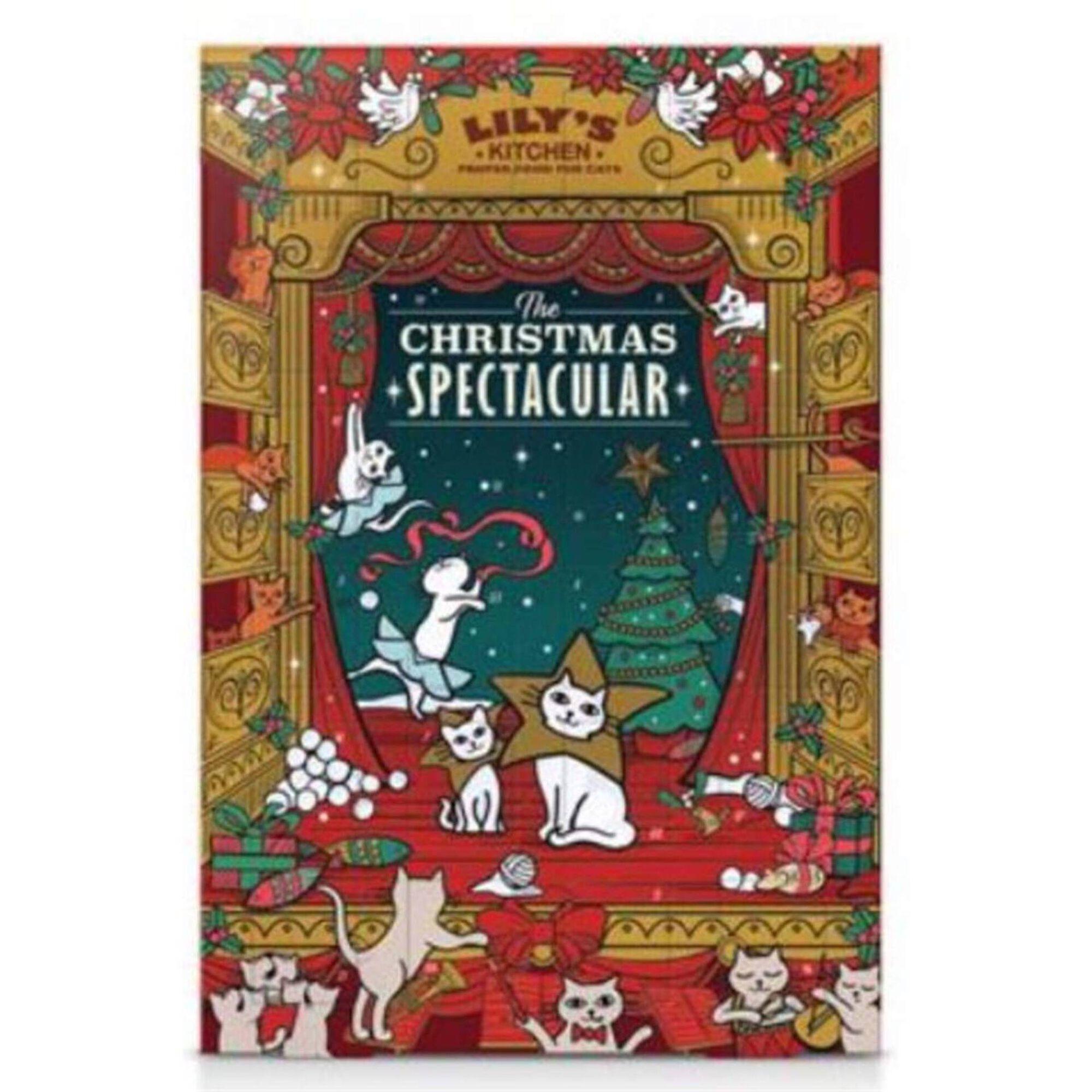 Calendário do Advento Natal para Gato