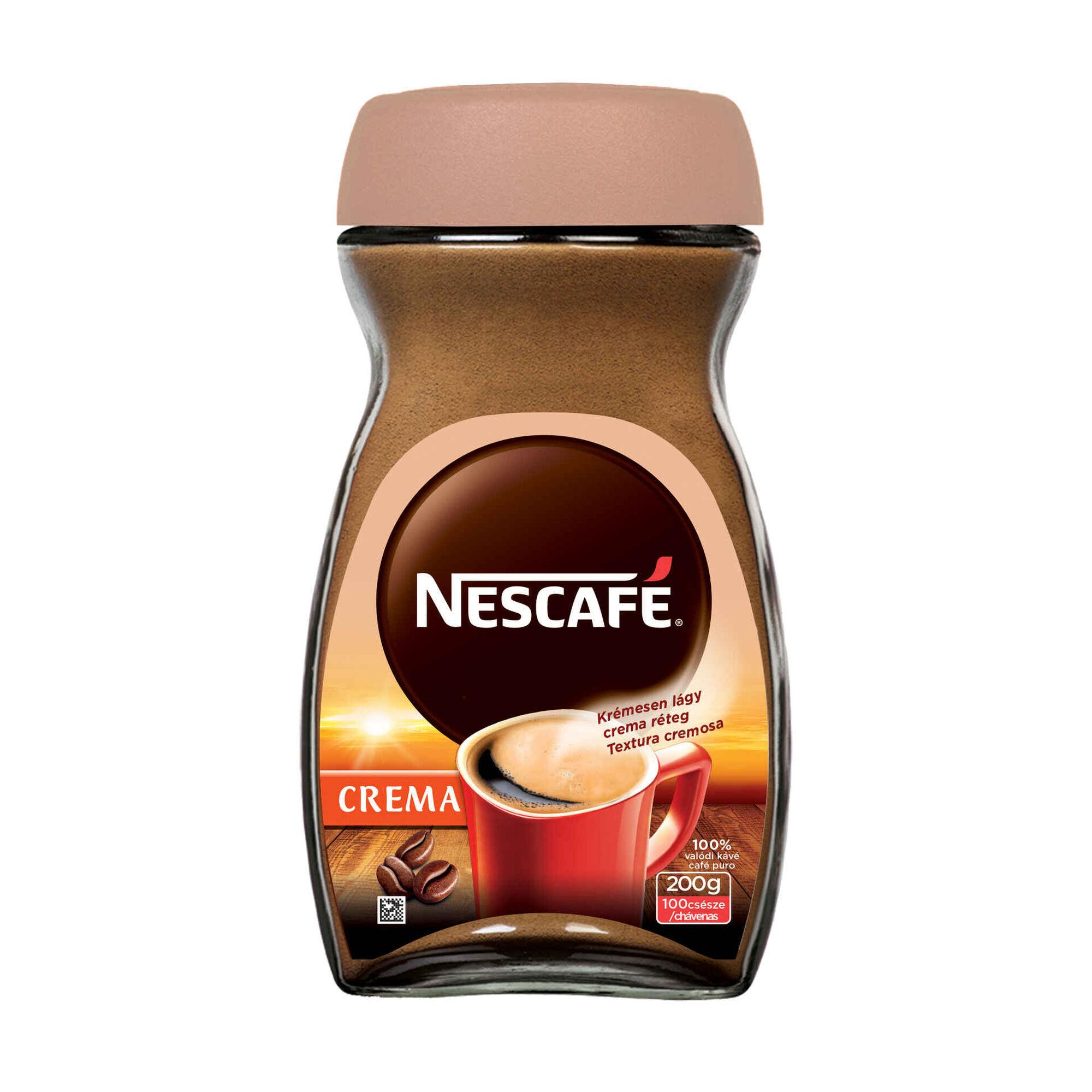 Café Solúvel Crema