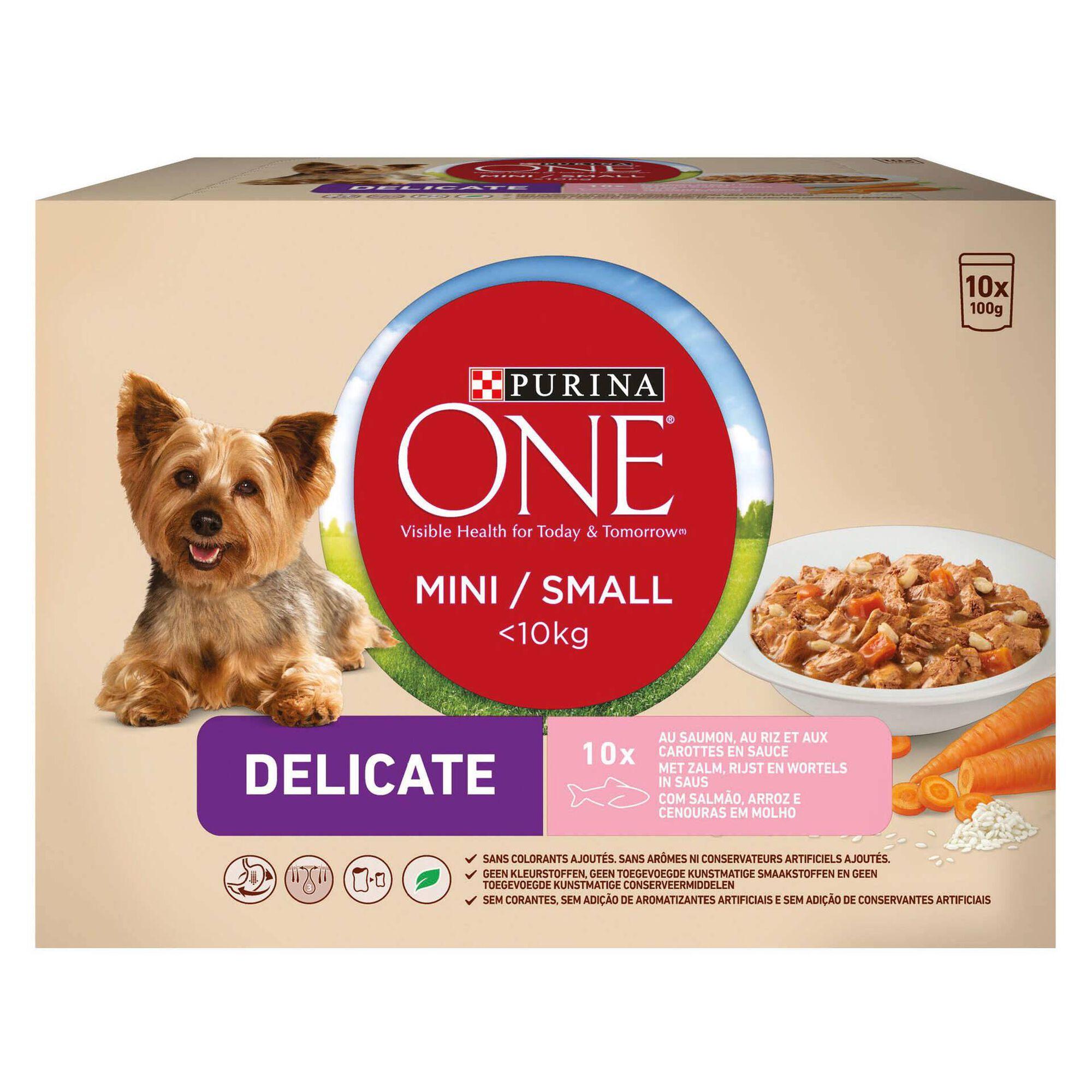 Comida Húmida para Cão Mini Delicate Salmão