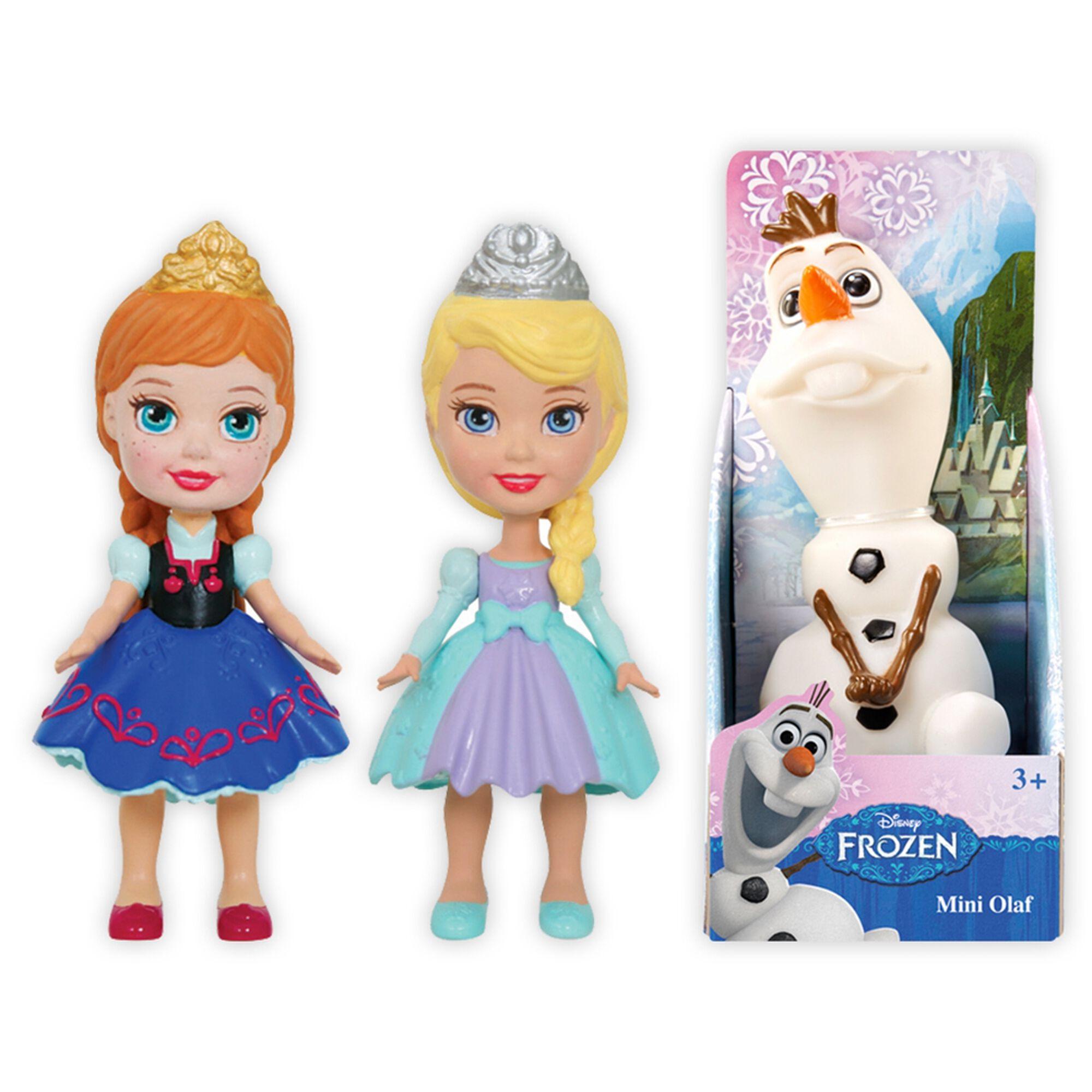 Mini Figuras Frozen (vários modelos)