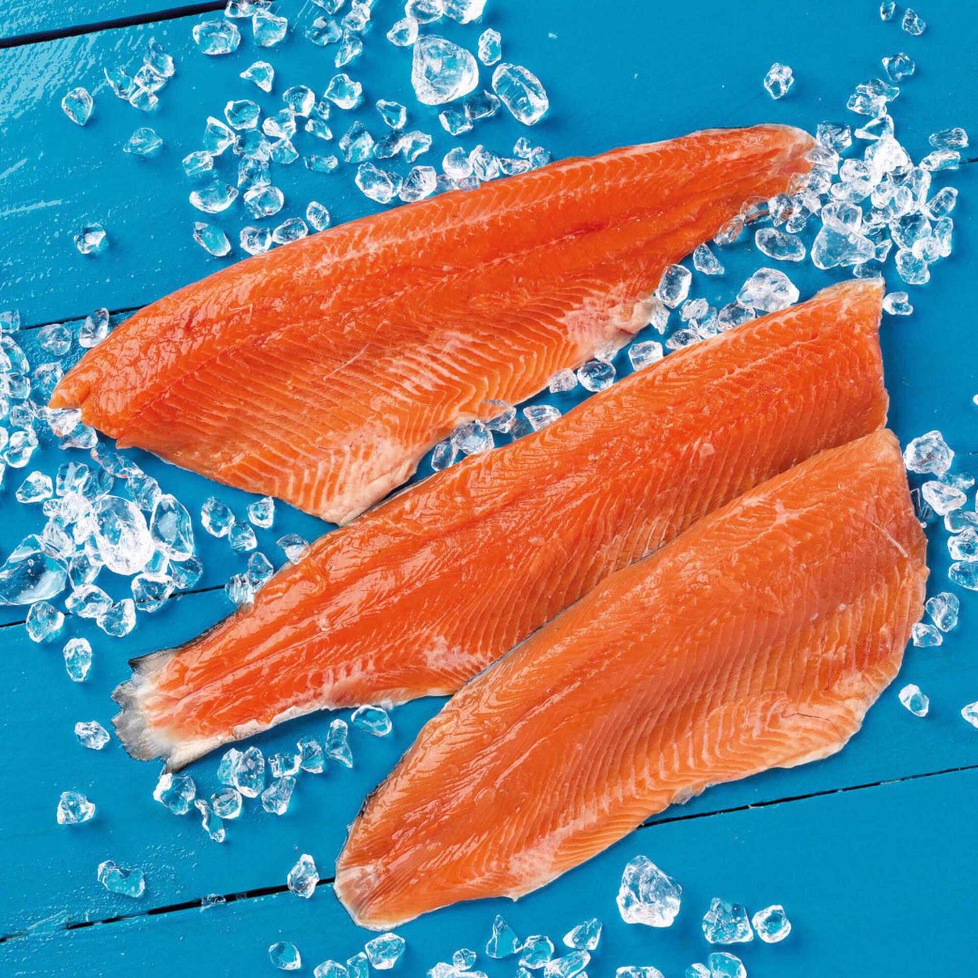 Filete Truta Salmonada Fresca
