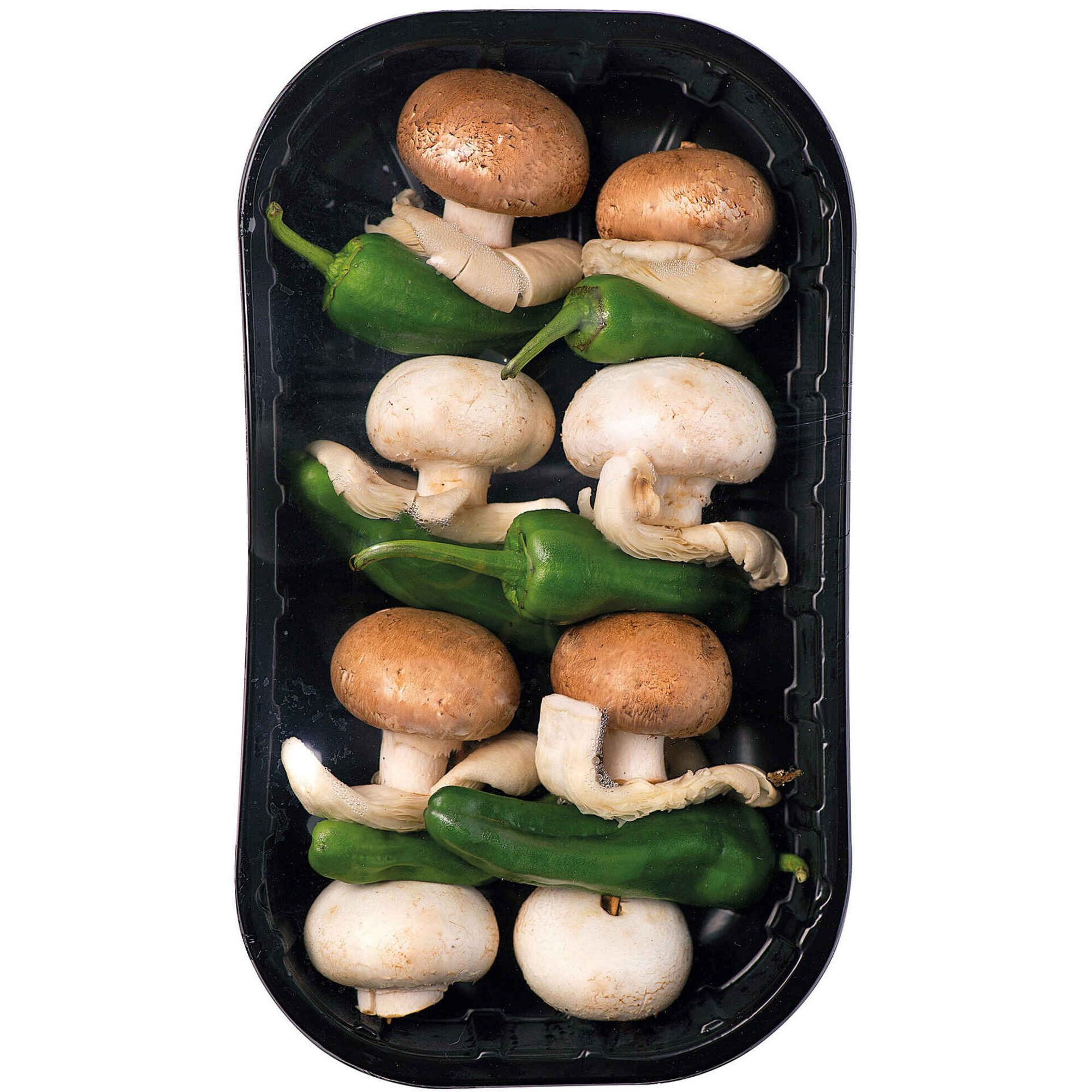 Espetada de Cogumelos