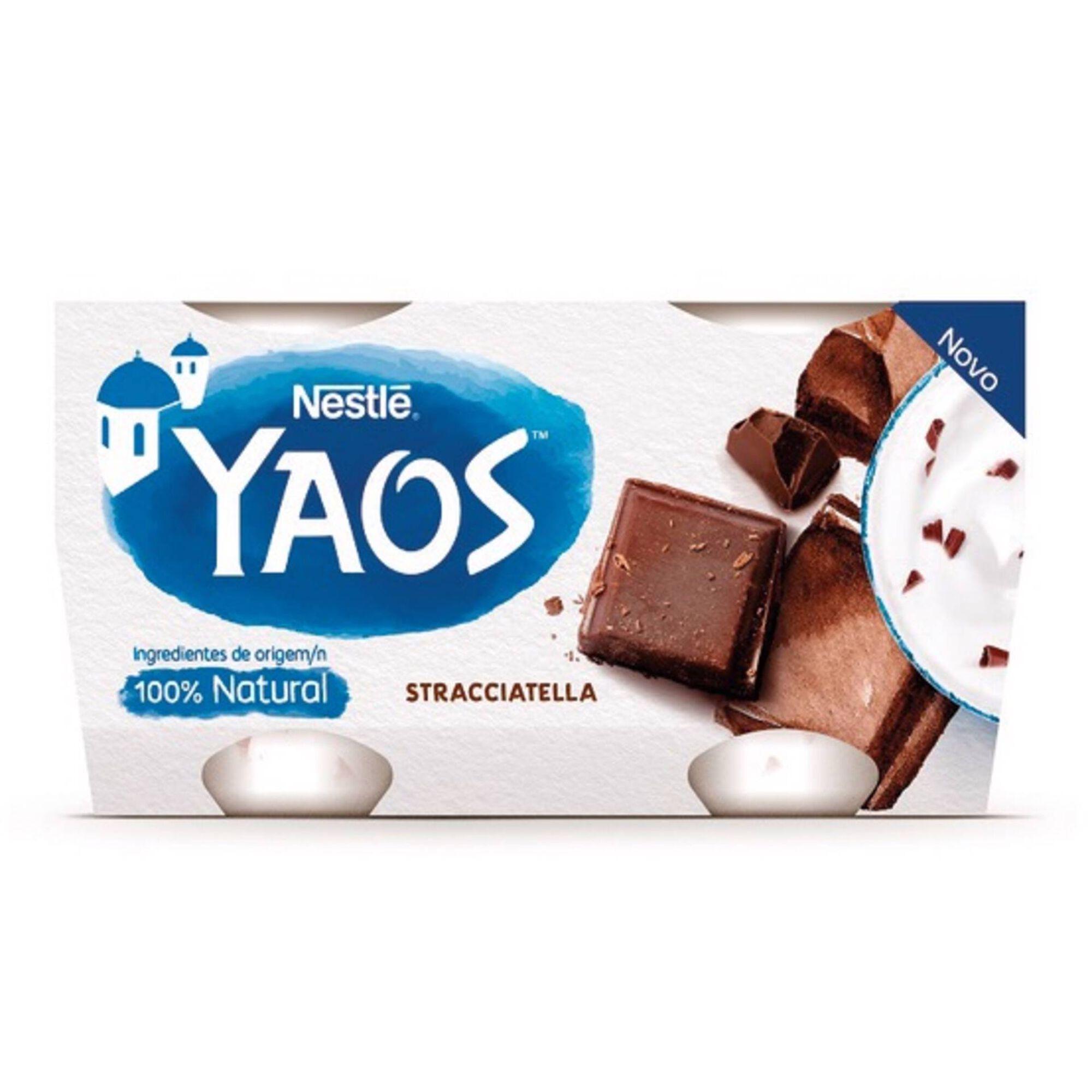 Iogurte Grego Yaos Stracciatella, , hi-res