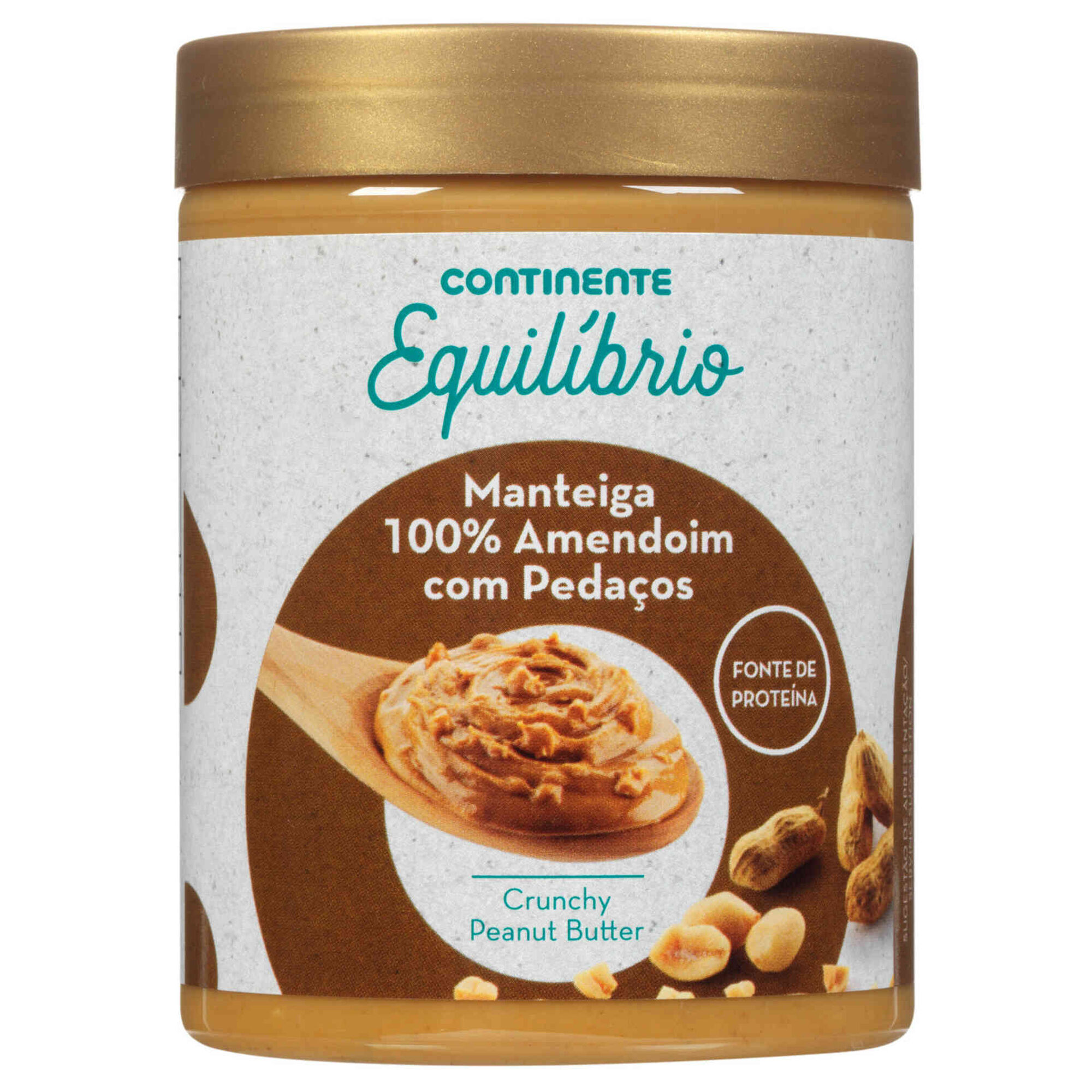 Manteiga de Amendoim 100% Pedaços
