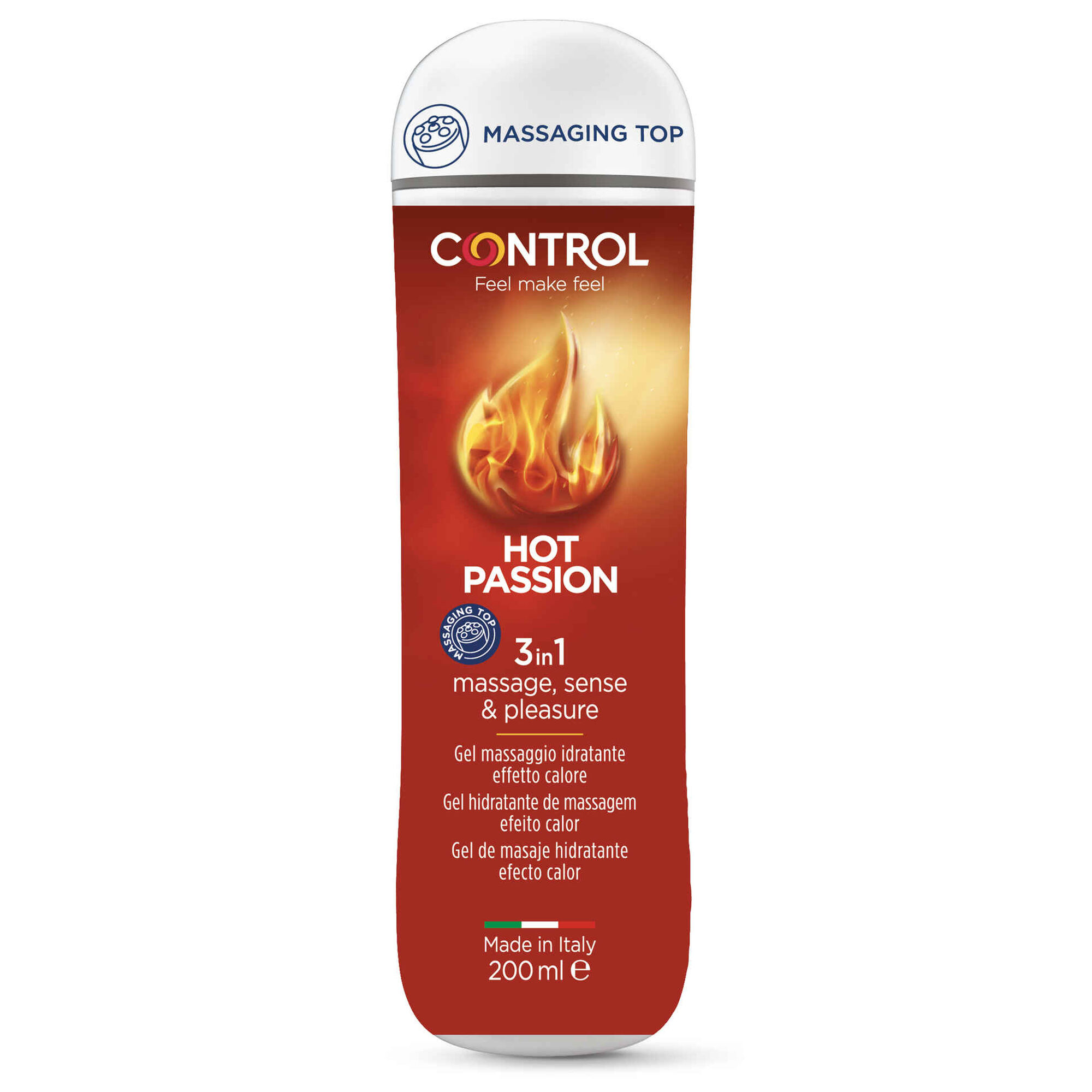Gel de Massagem Hot Passion 3 em 1
