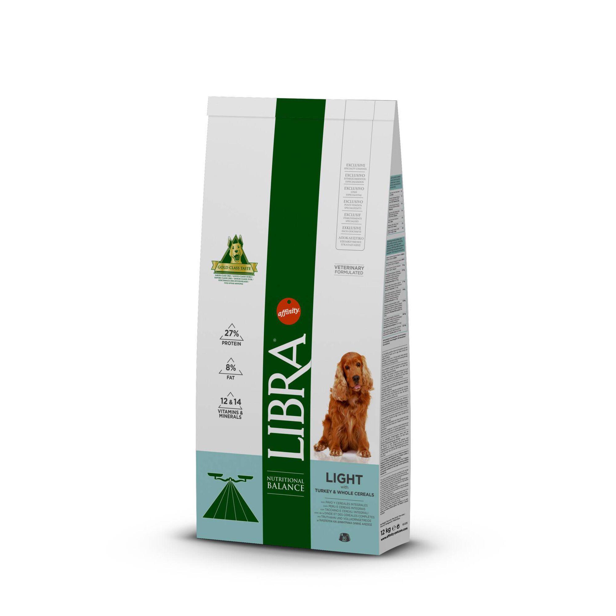 Ração para Cão Adulto Light Peru e Cereais Integrais