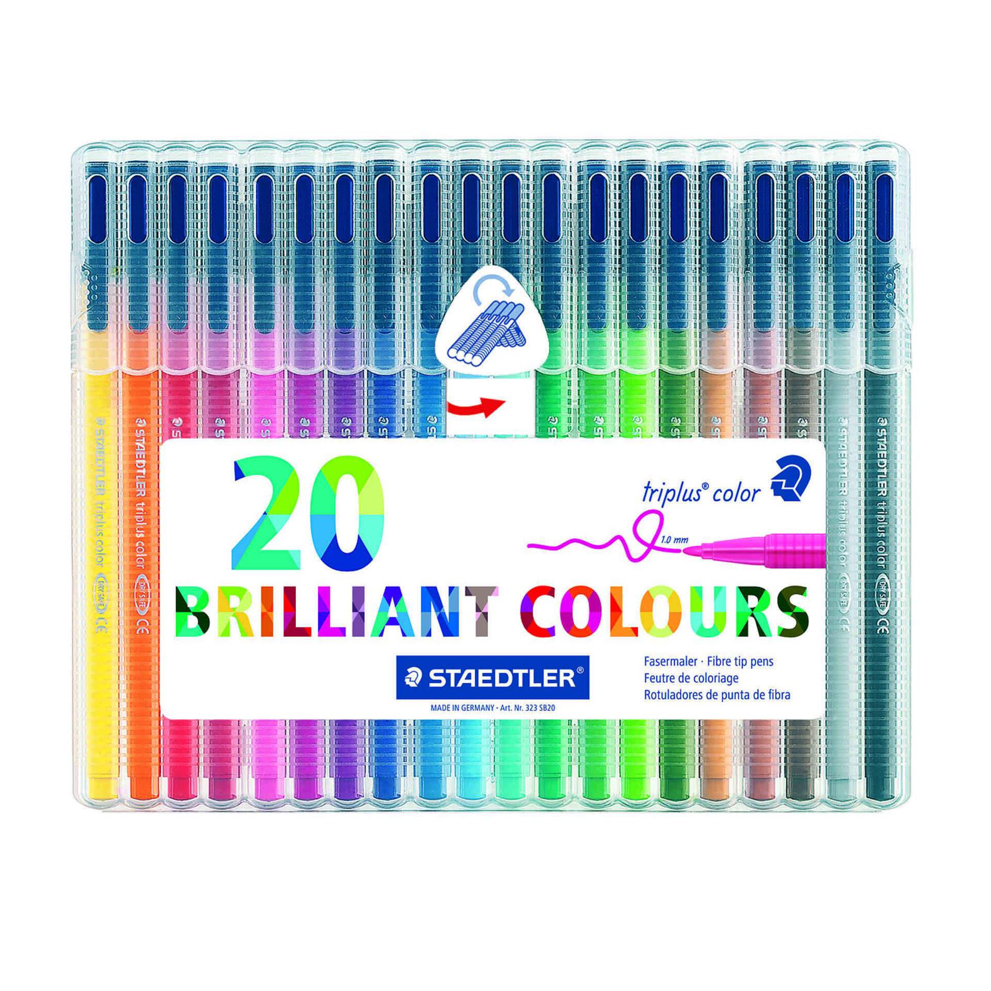 Marcadores de Colorir Triplus