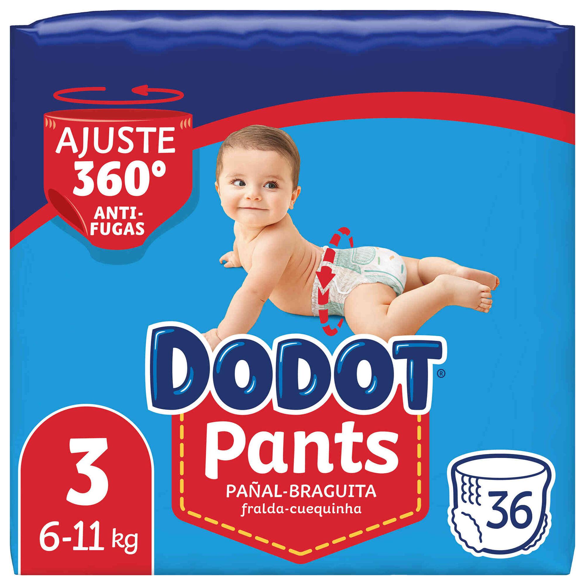 Fraldas Pants 6-11kg T3