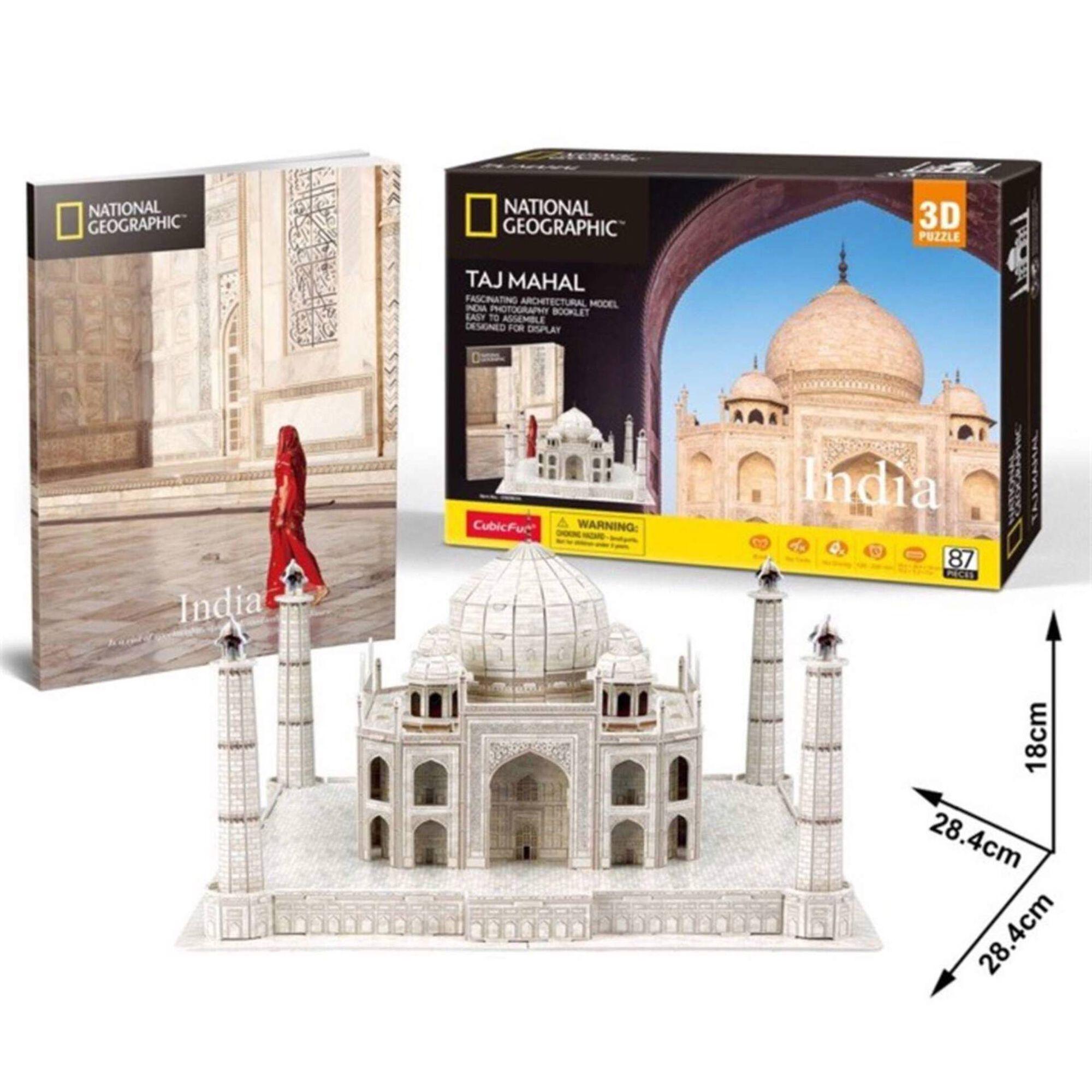 Puzzle 3D Taj Mahal 86 Peças