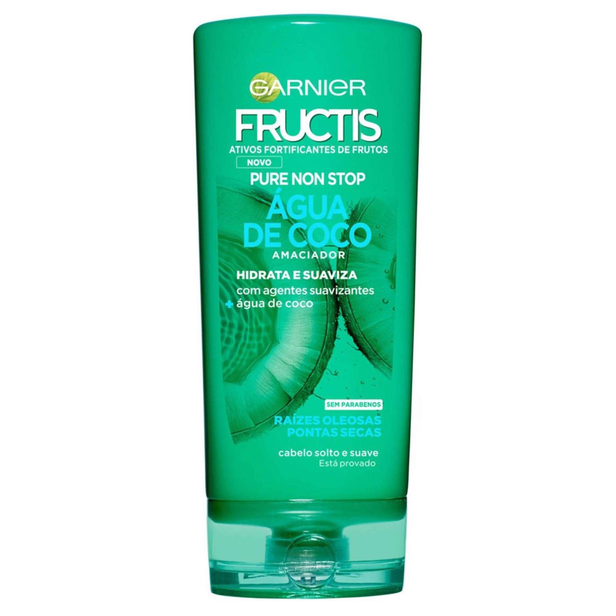 Condicionador Fructis Pure Non Stop Água de Coco