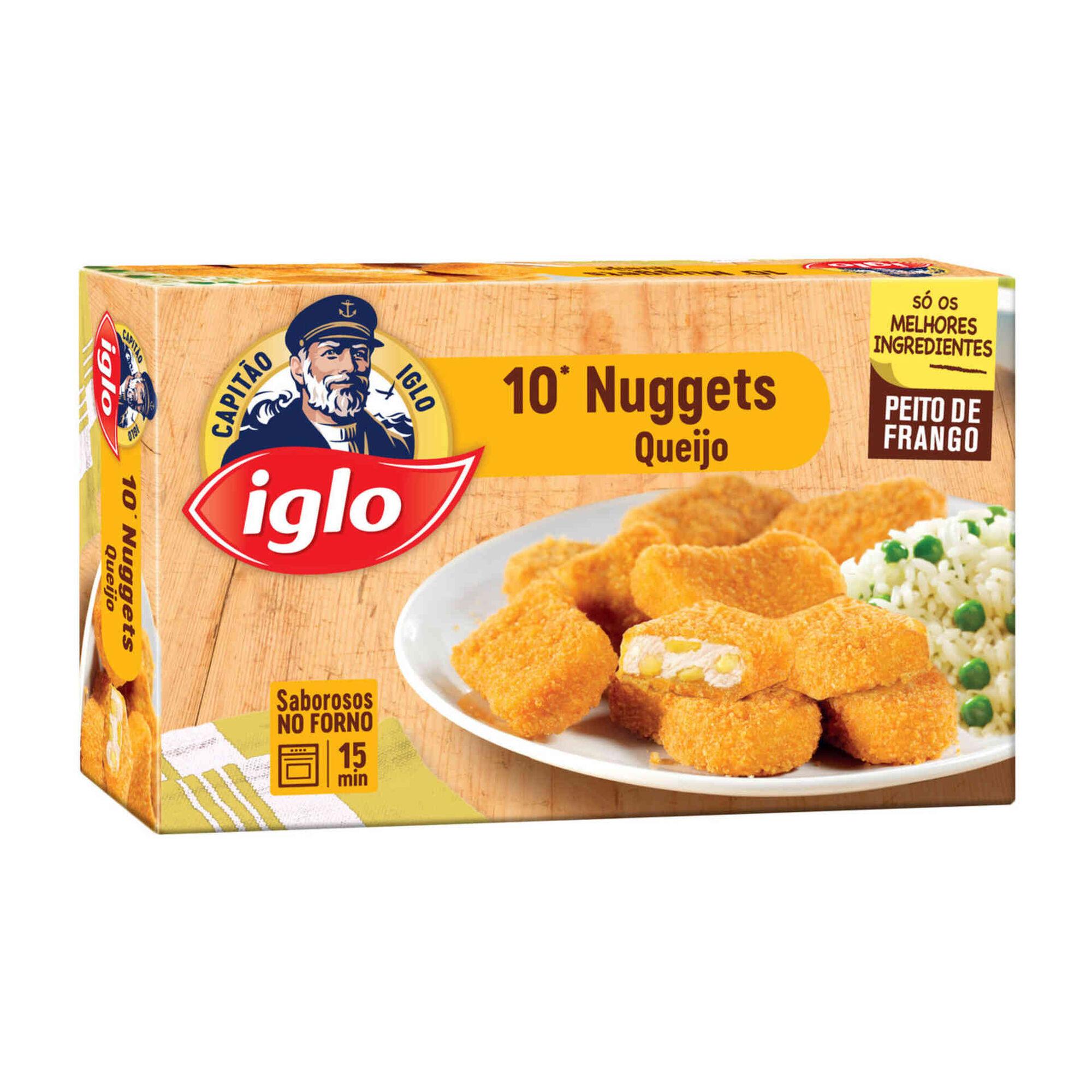 Nuggets de Frango e Queijo