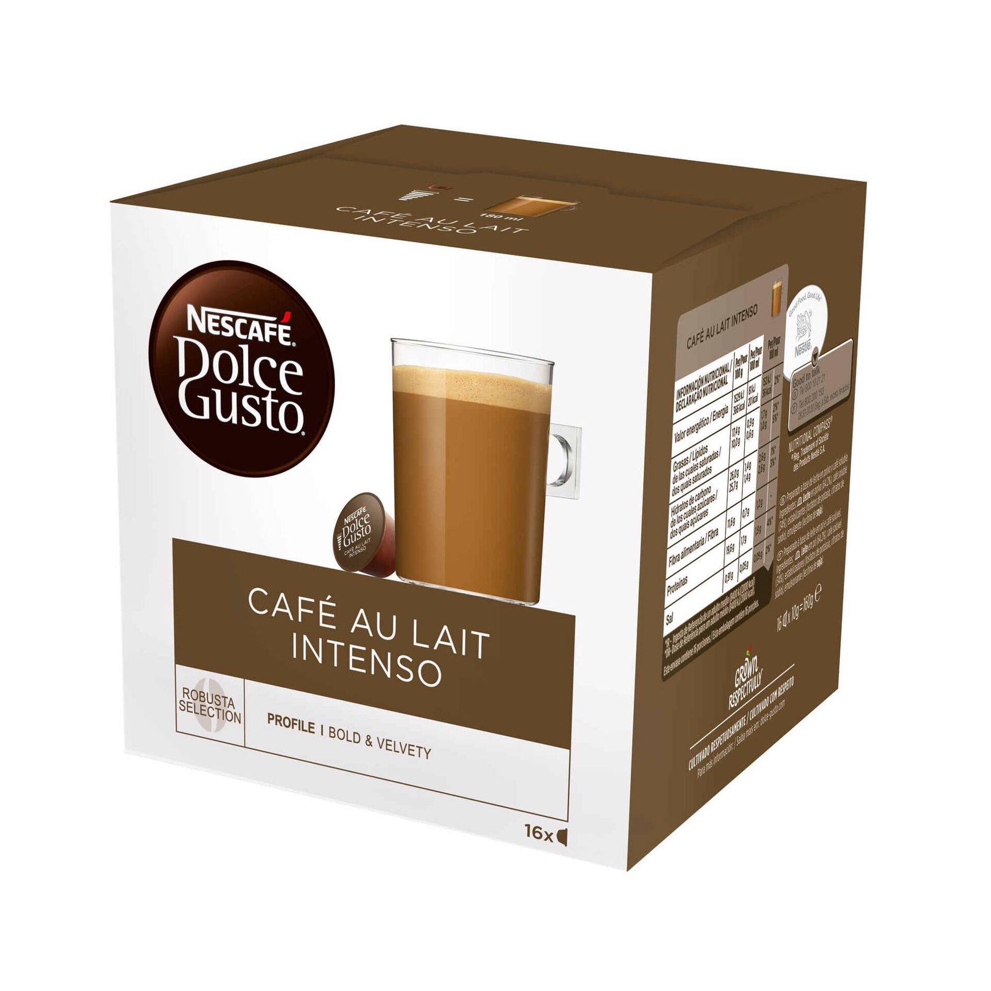 Cápsulas de Café Au Lait Intenso