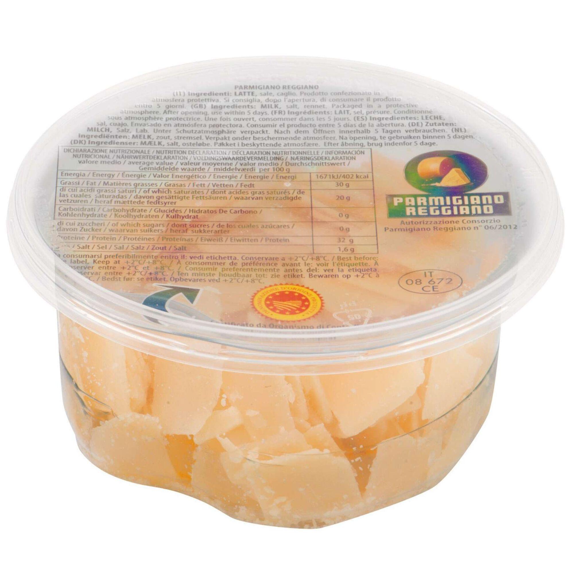 Queijo Parmigiano Reggiano DOP Lascas