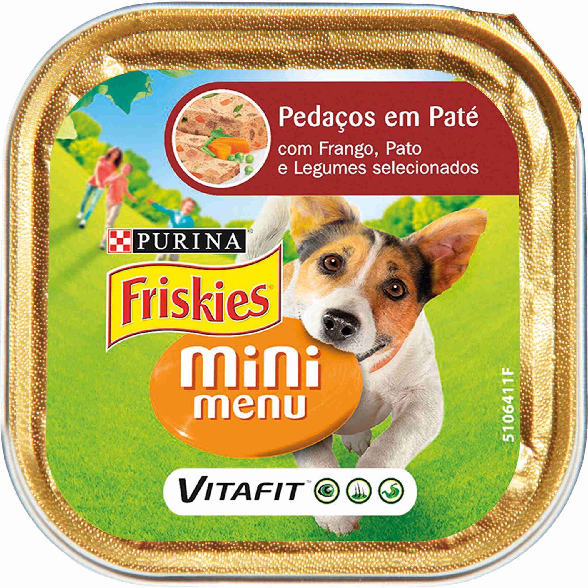 Comida Húmida para Cão Adulto Mini Pedaços em Patê Terrina