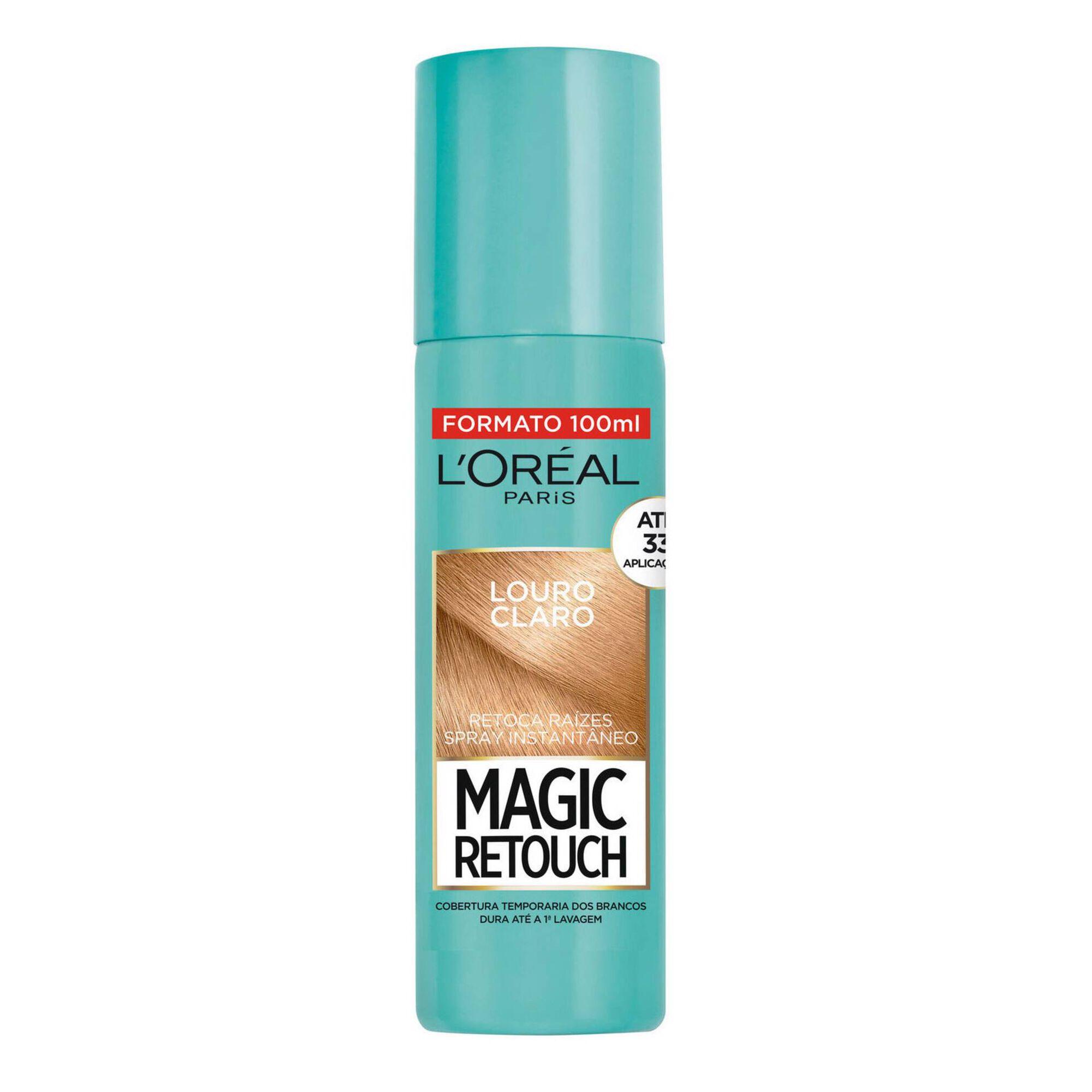 Coloração Retoca Raízes Magic Retouch Spray Louro Claro 5