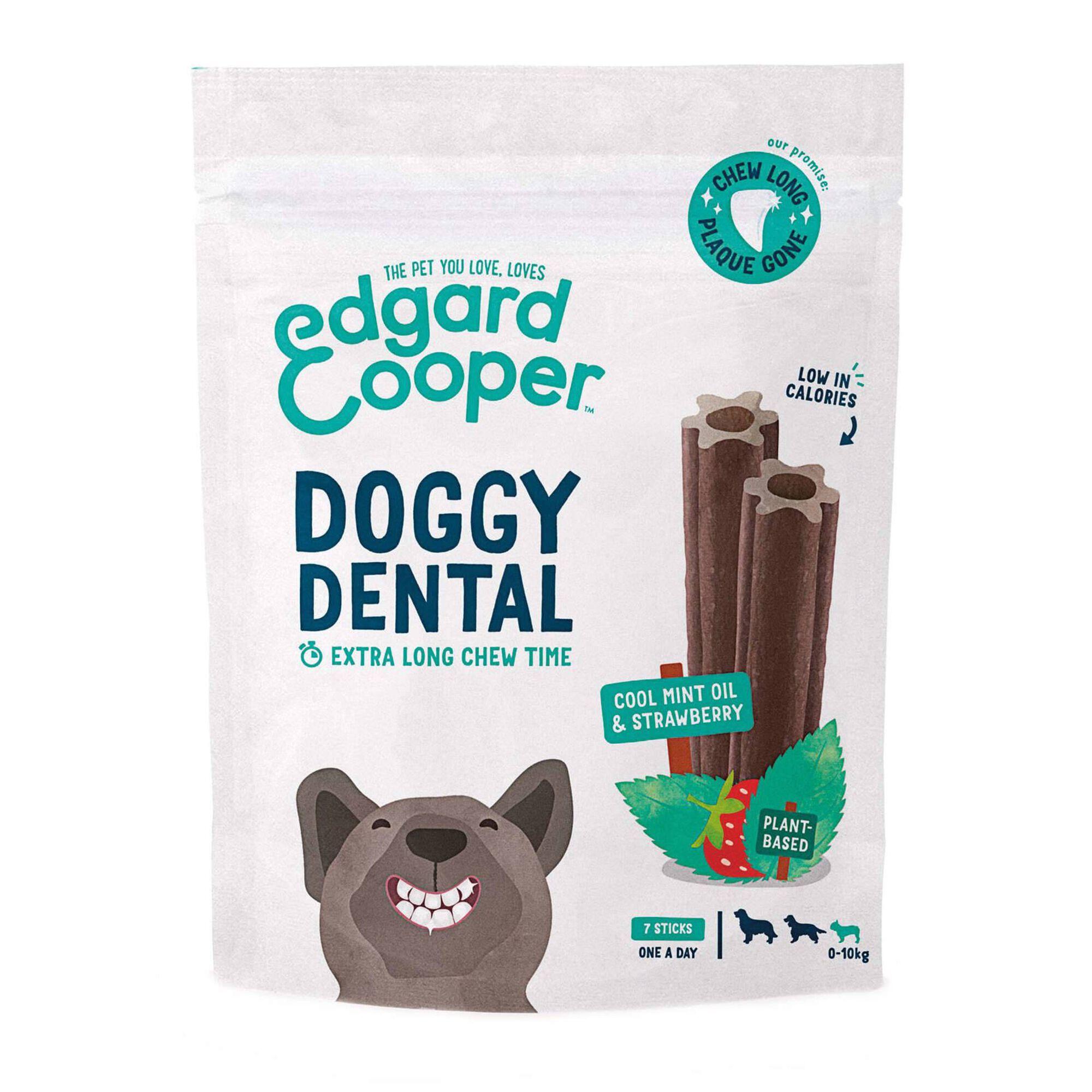 Snack para Cão Mini Dental Morango e Menta