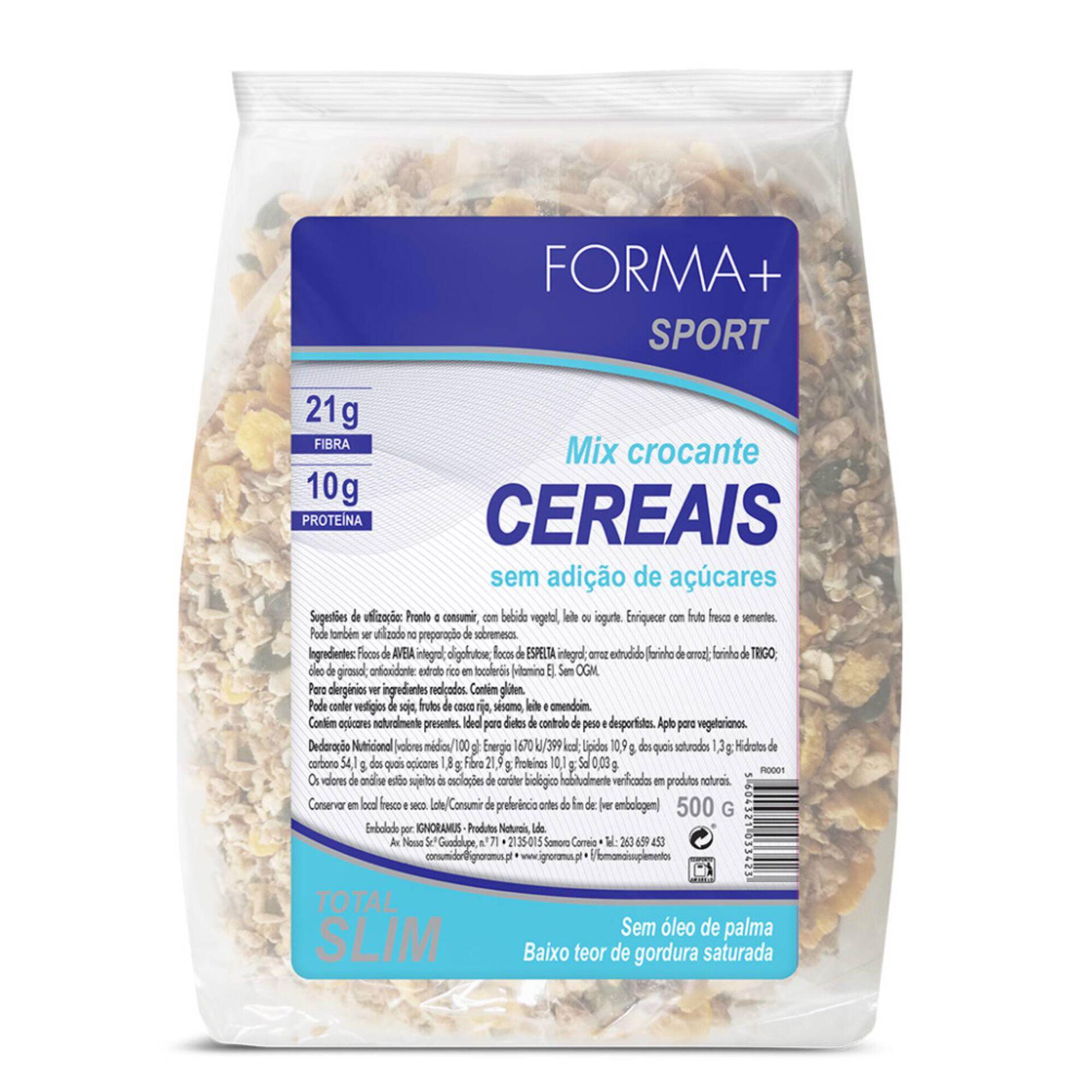 Cereais Crocantes sem Açúcar
