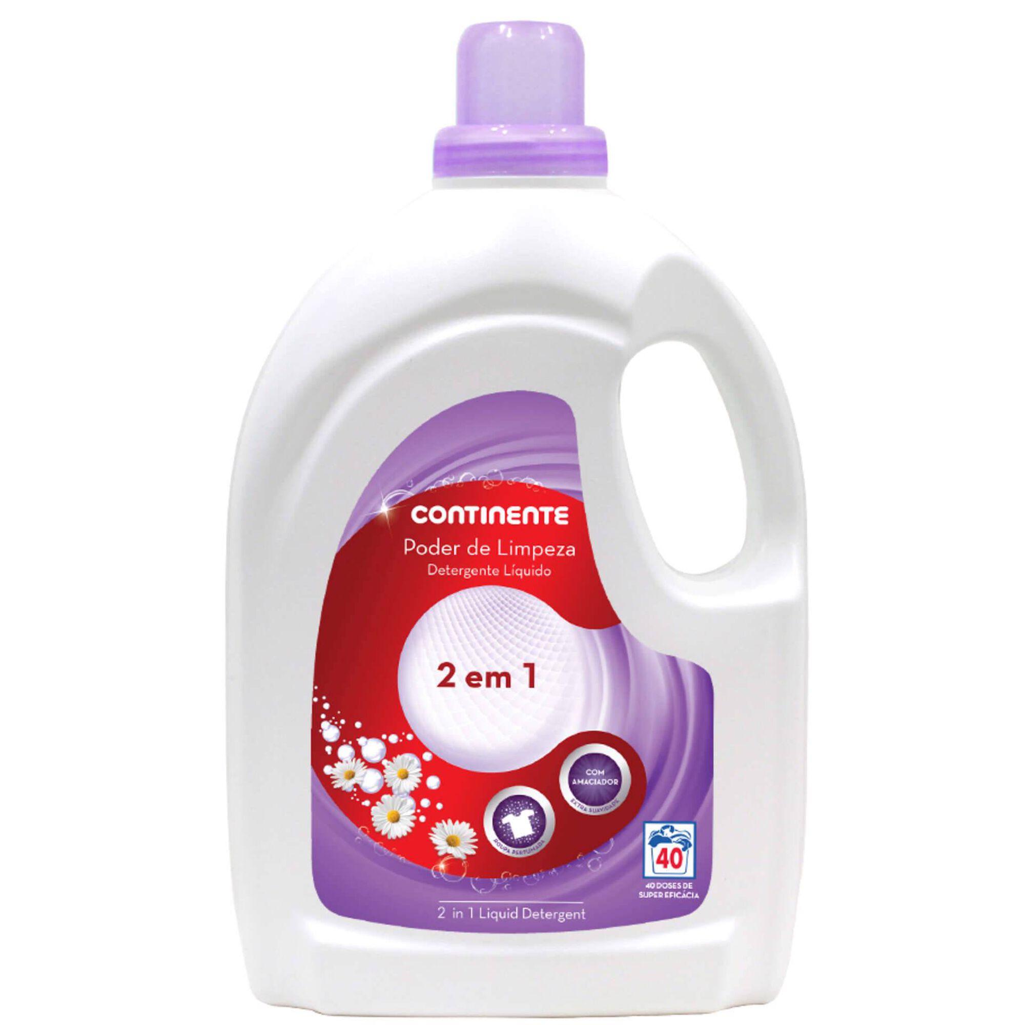 Detergente Máquina Roupa Líquido 2 em 1