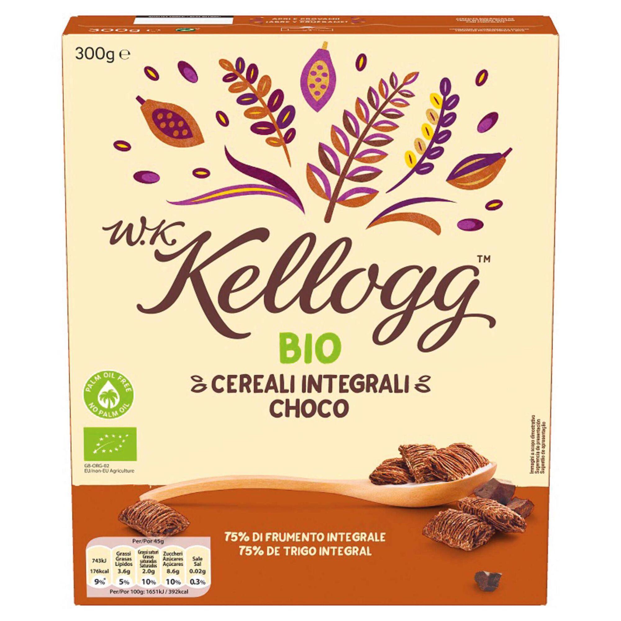 Cereais Integrais Recheio Chocolate Biológicos