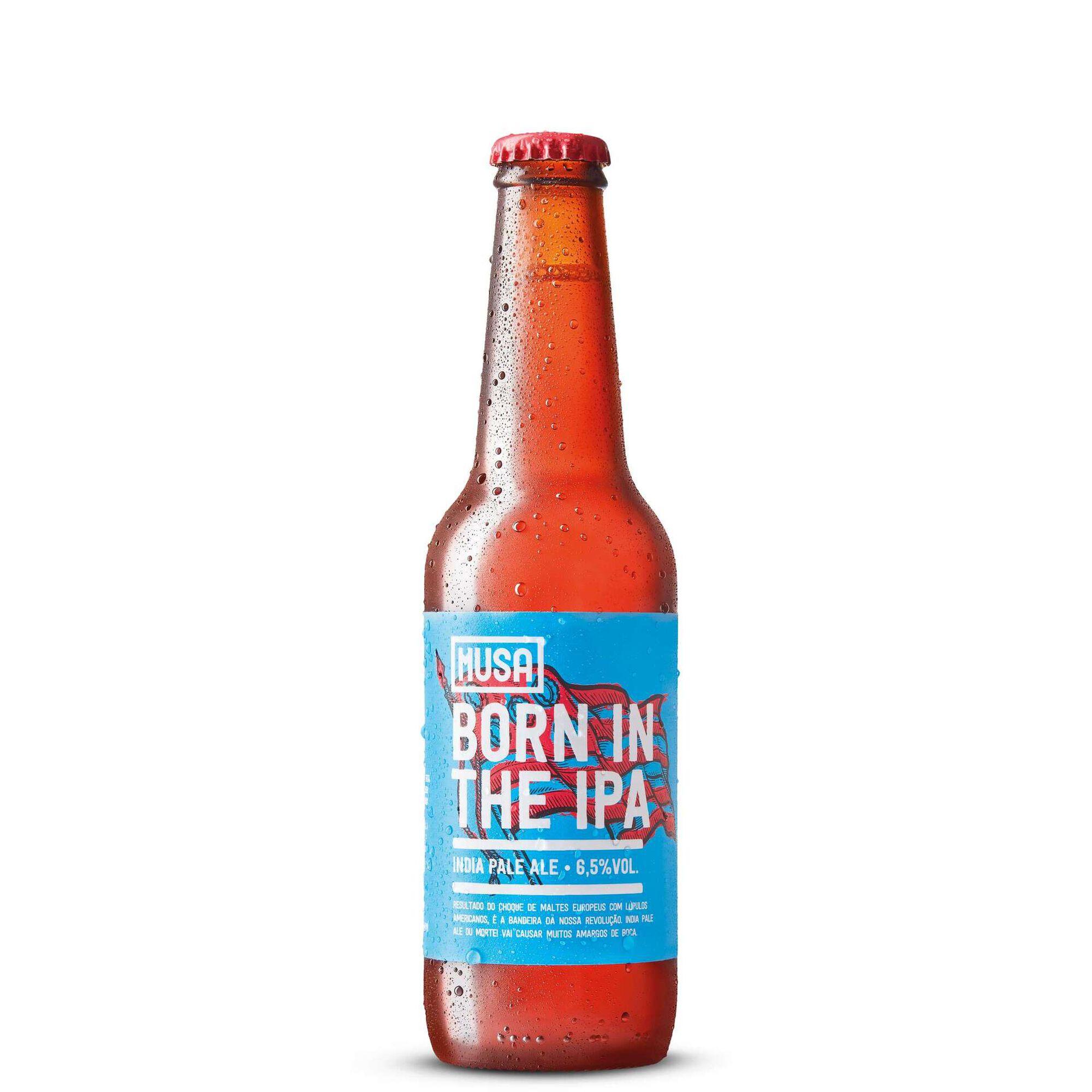 Cerveja com Álcool Musa Born Garrafa