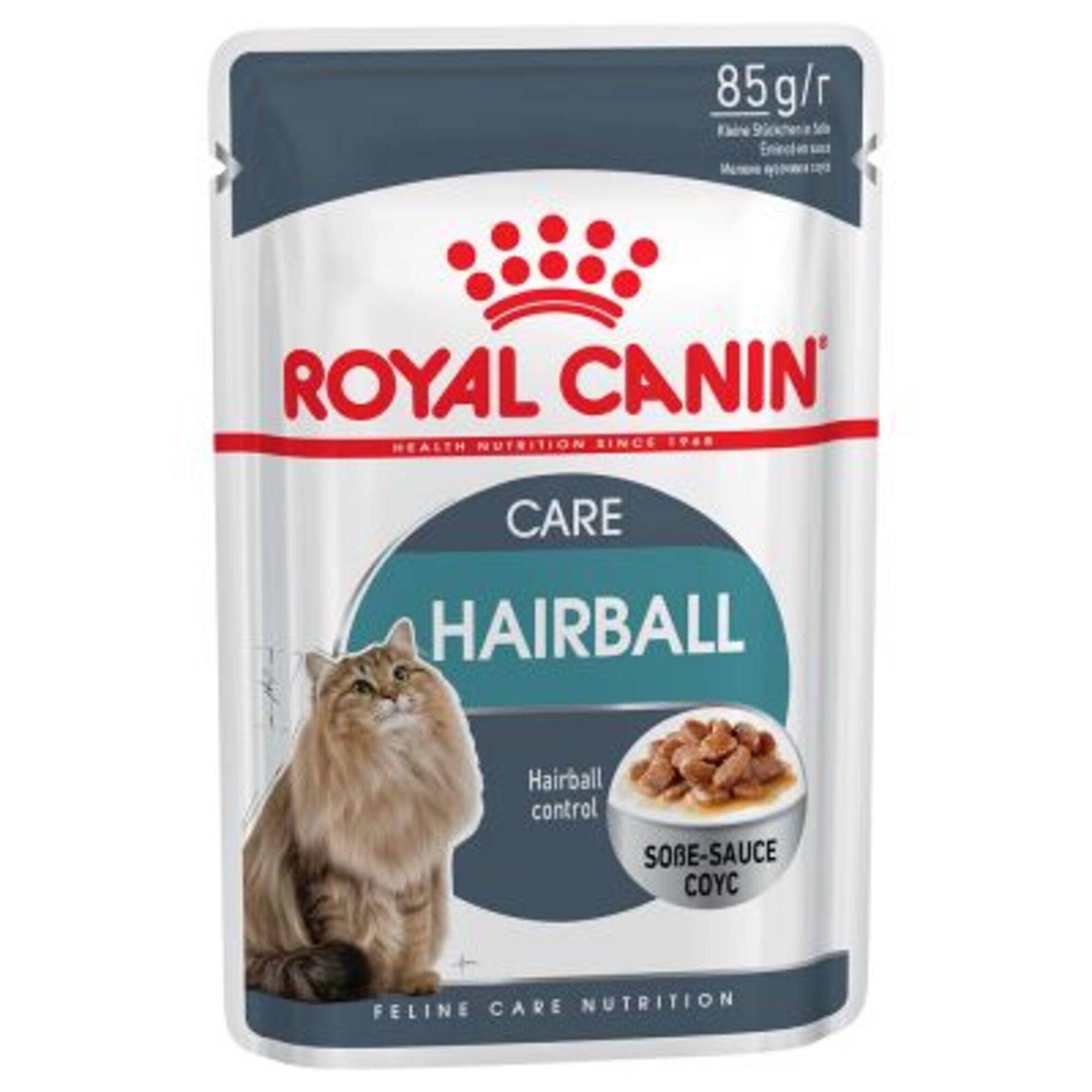 Comida Húmida para Gato Hairball Saquetas