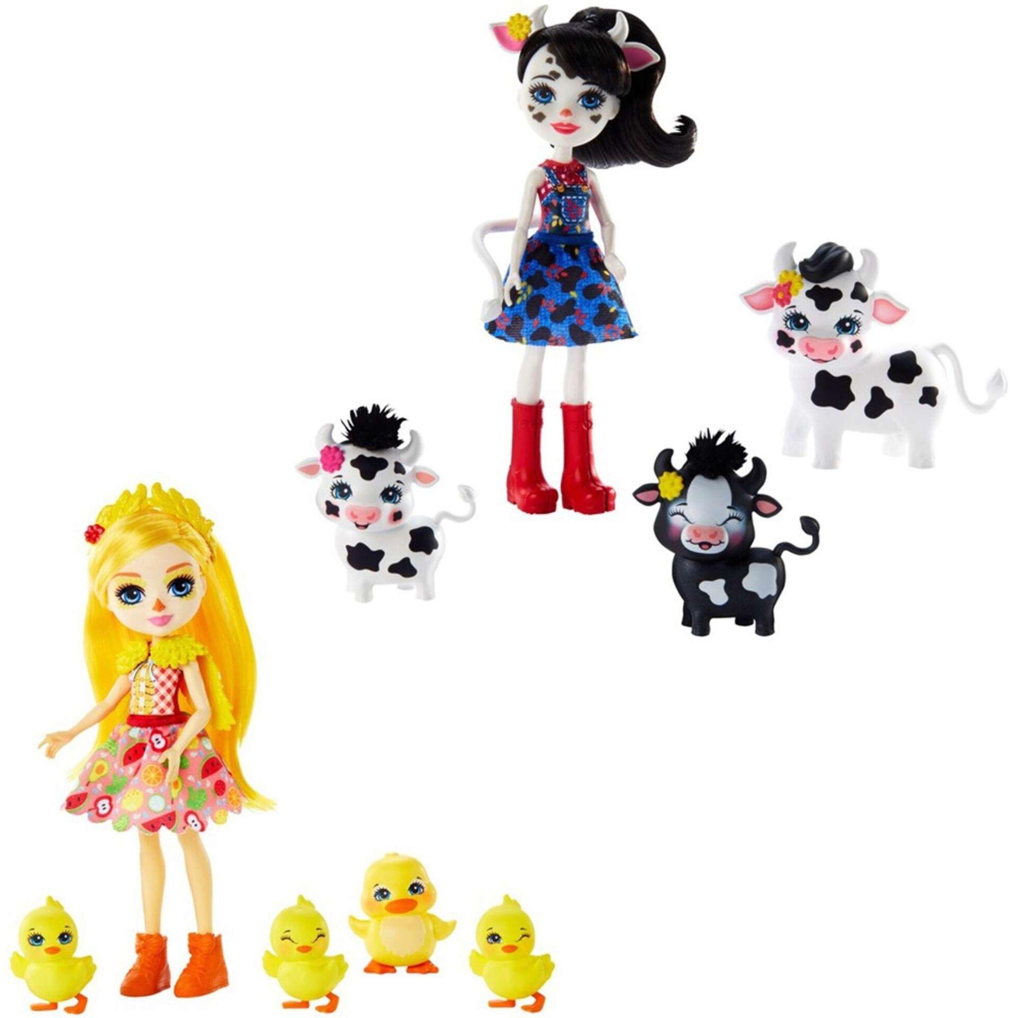 Bonecas Família Enchantimals (vários modelos)