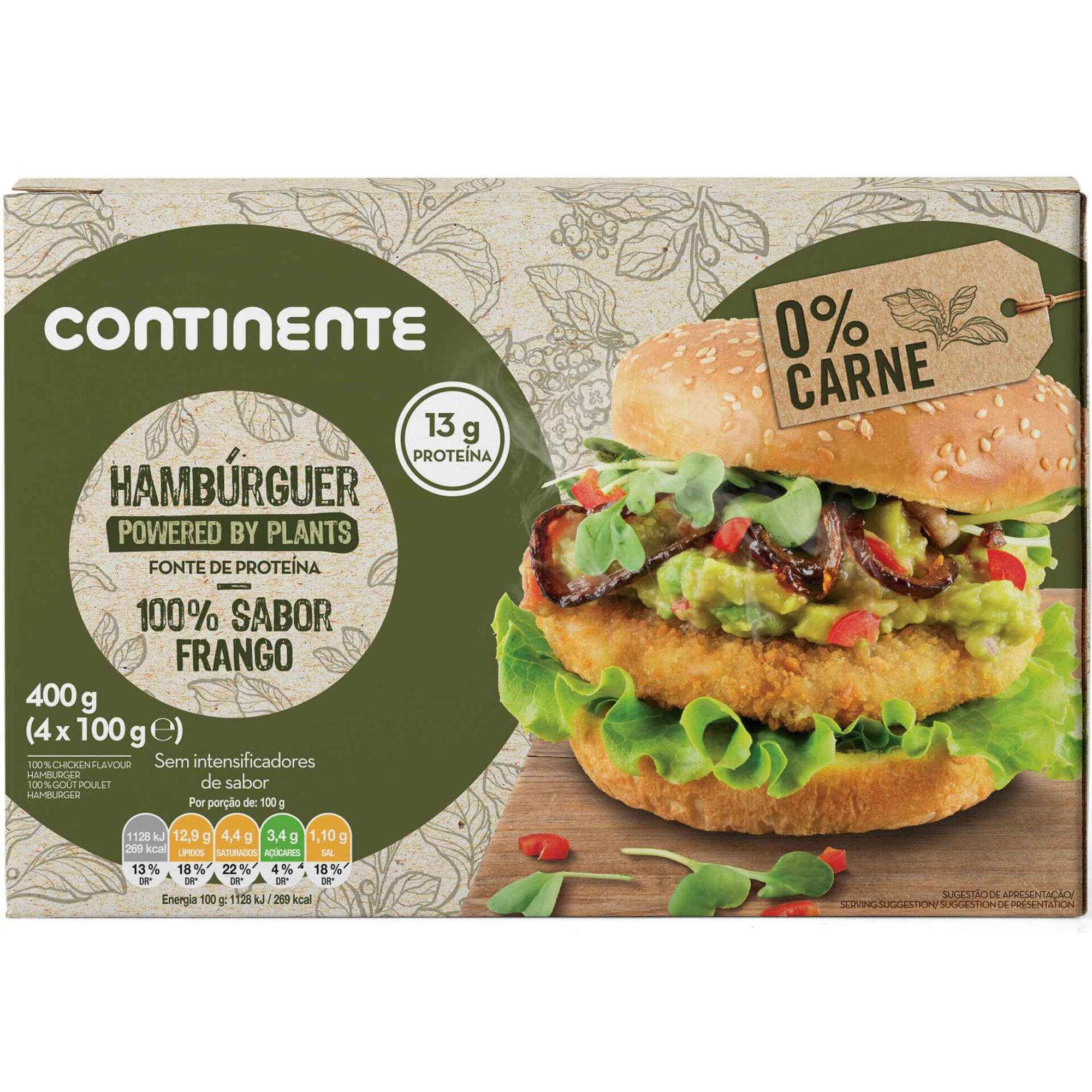 Hambúrguer Powered By Plants