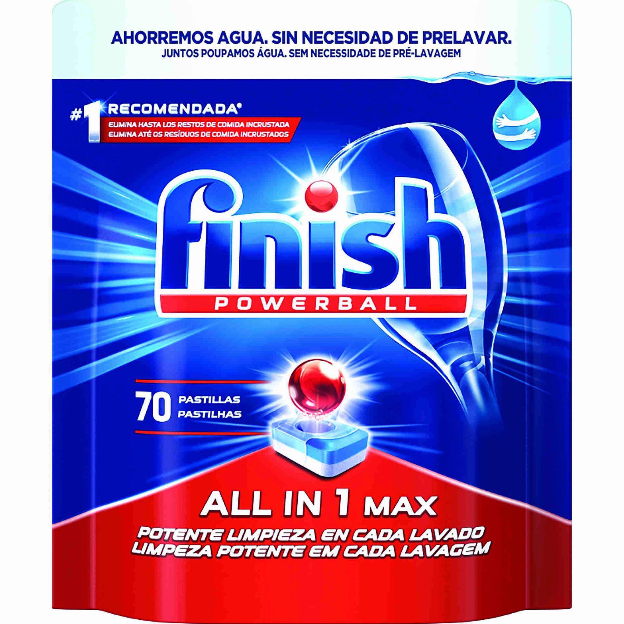 Detergente Máquina Loiça Pastilhas All in 1 Regular