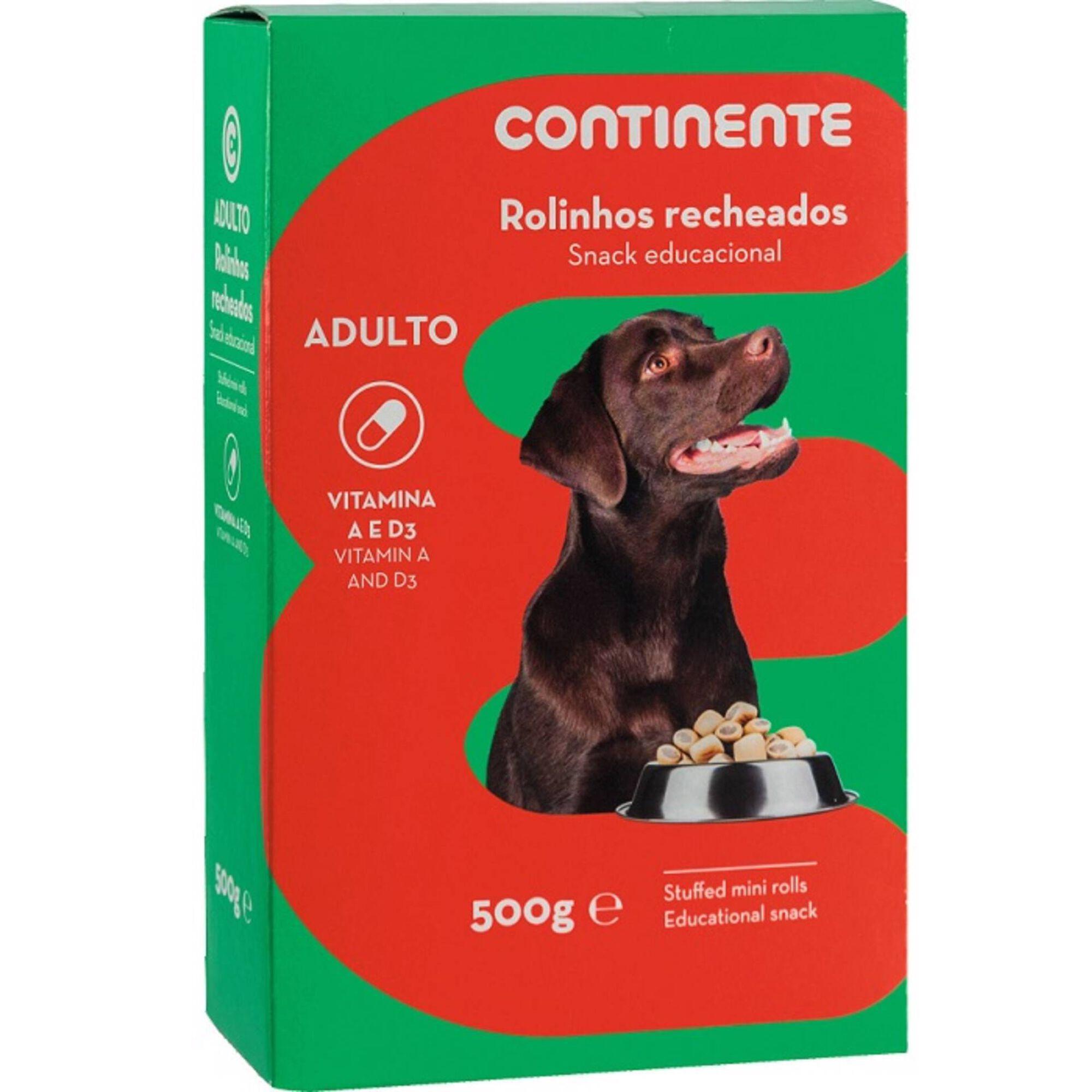 Snack para Cão Adulto Rolinhos Recheados