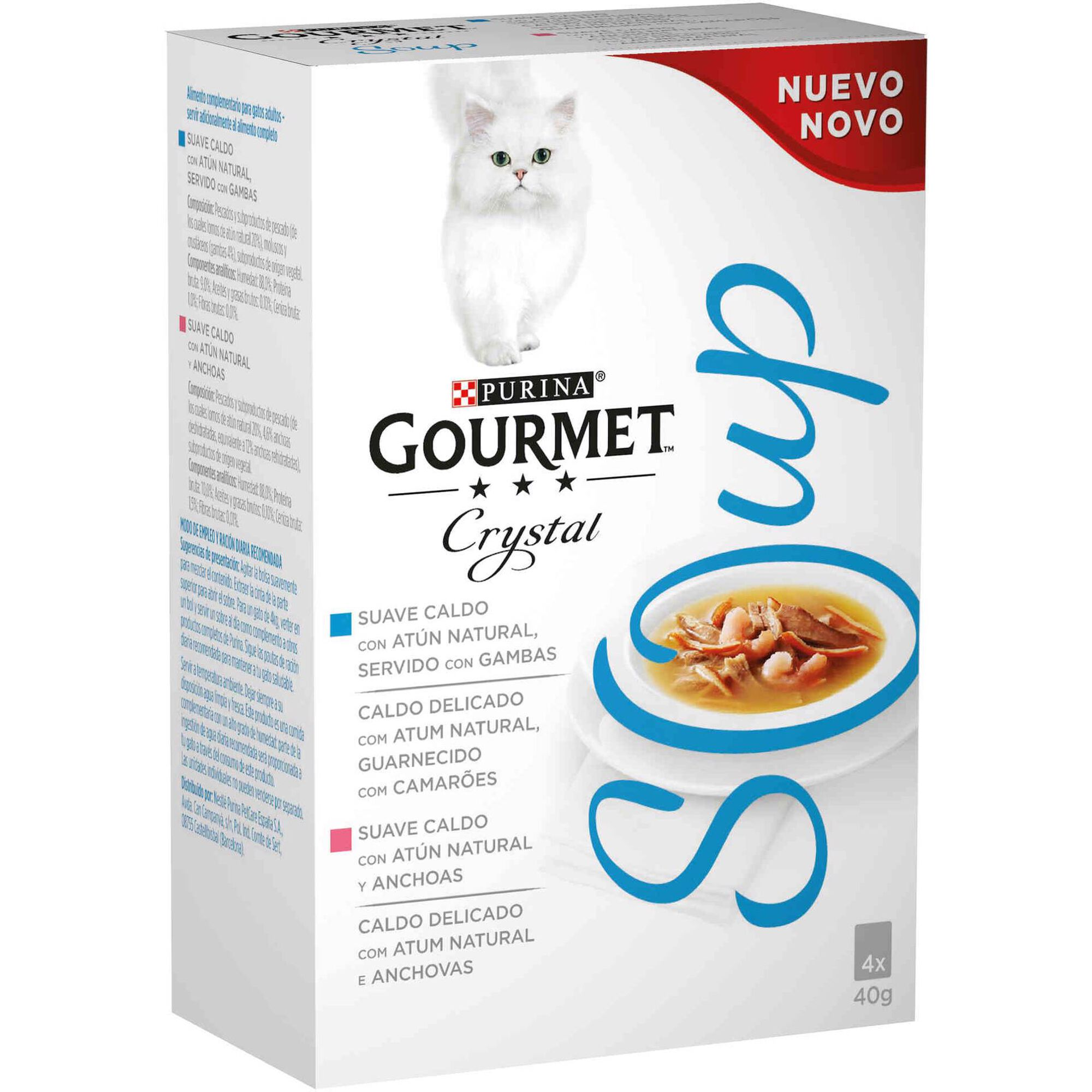 Comida Húmida para Gato Adulto Soup Atum Saquetas