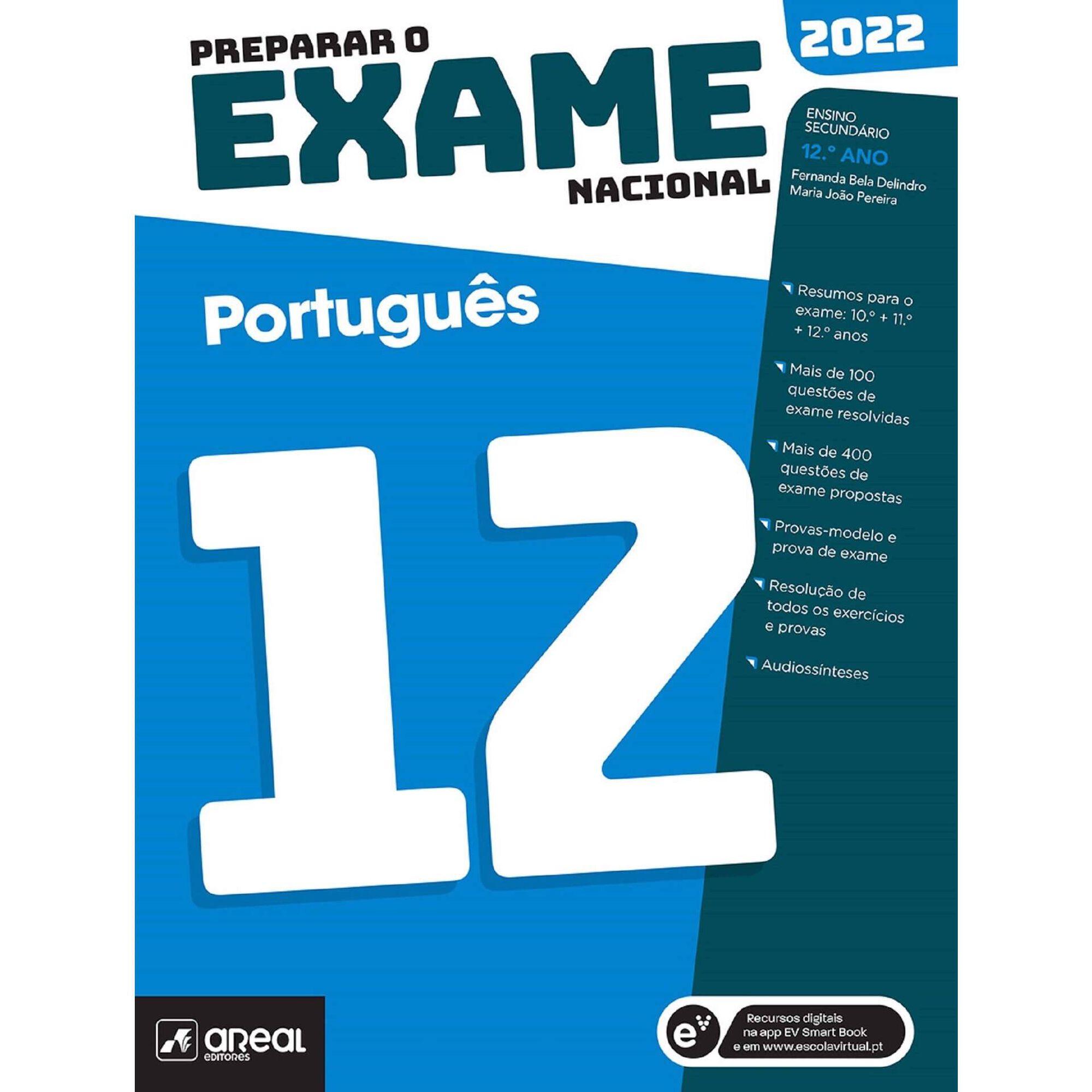 Preparar o Exame Nacional 2022 - Português - 12º Ano