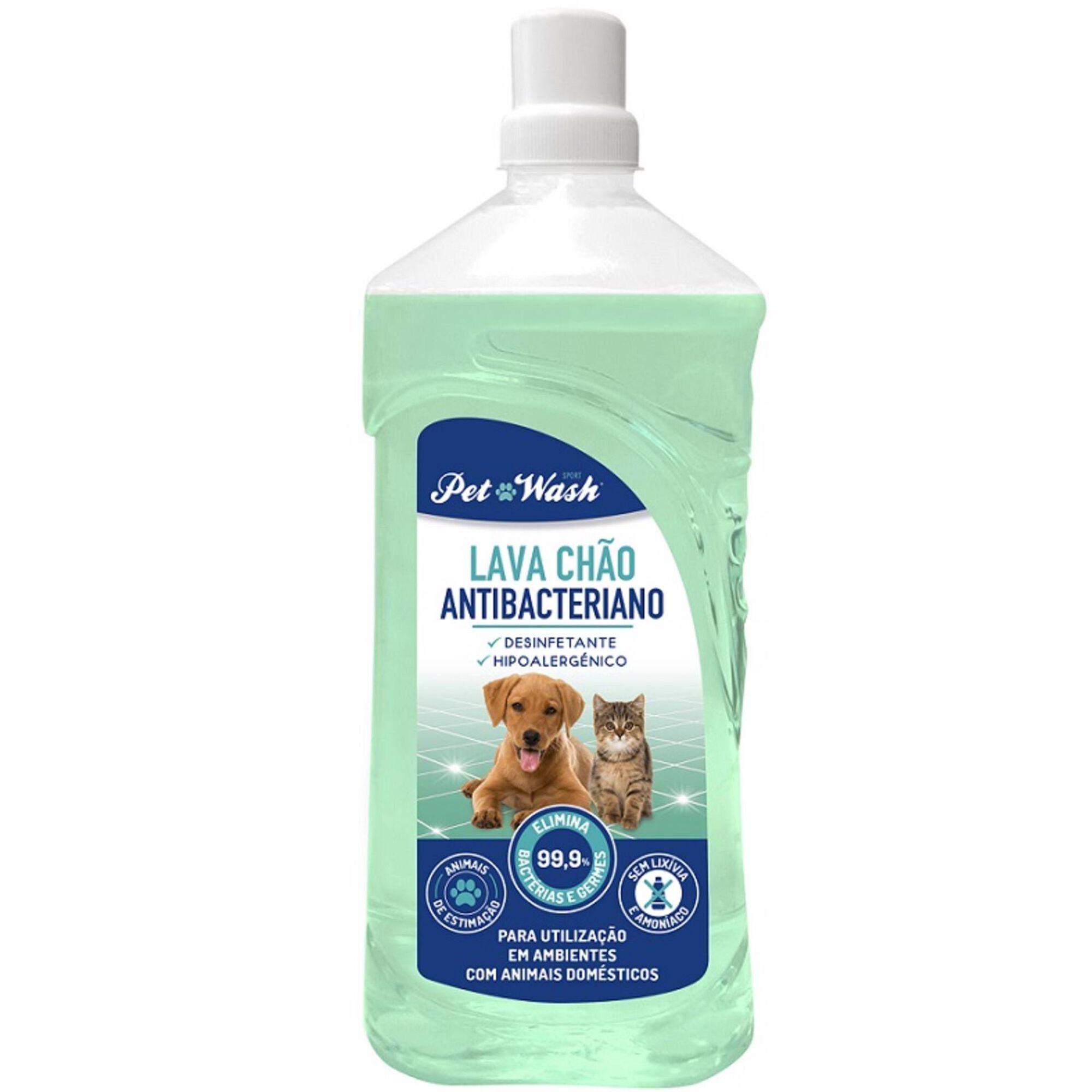 Lava Chão para Cão e Gato Antibacteriano