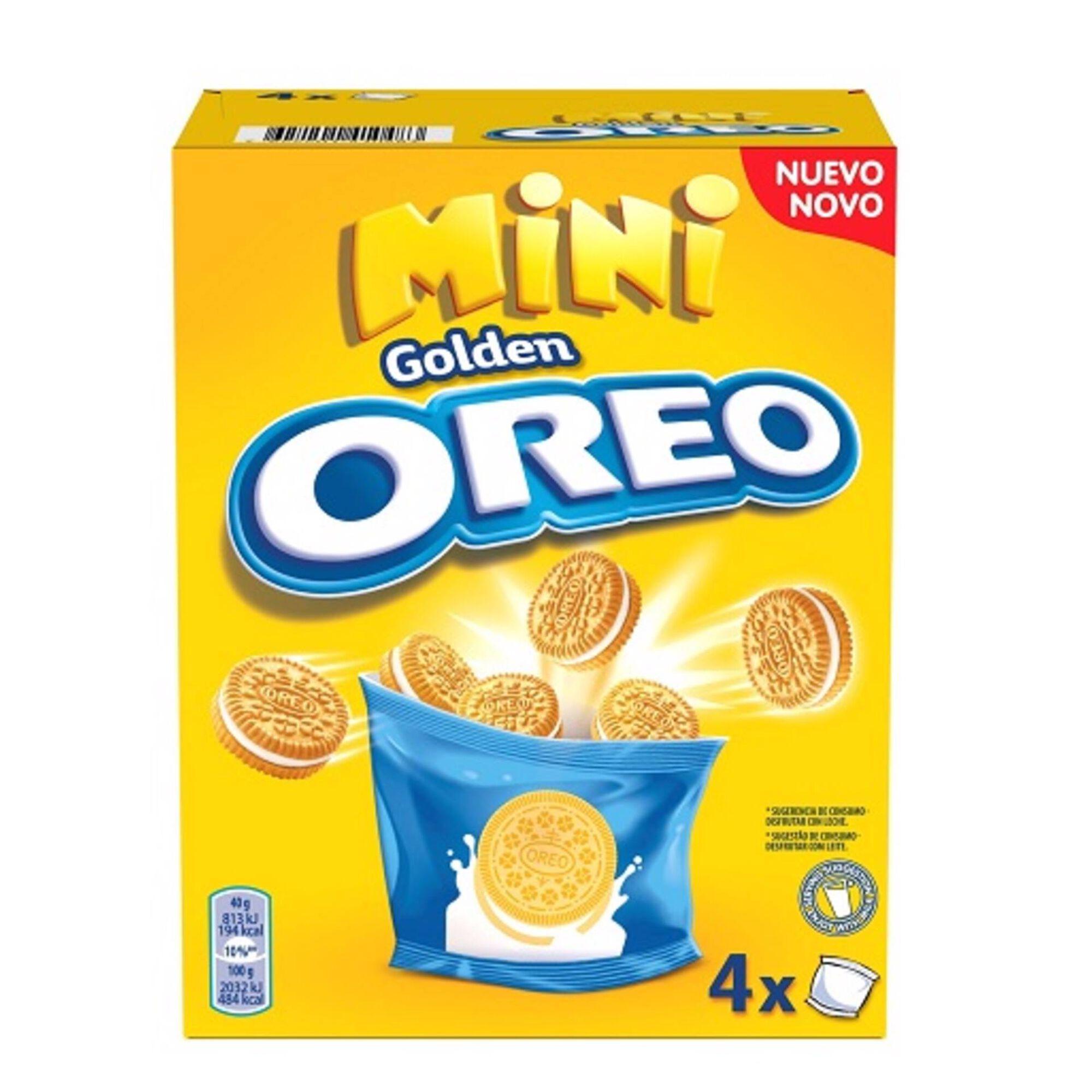 Bolachas Recheio Mini Golden