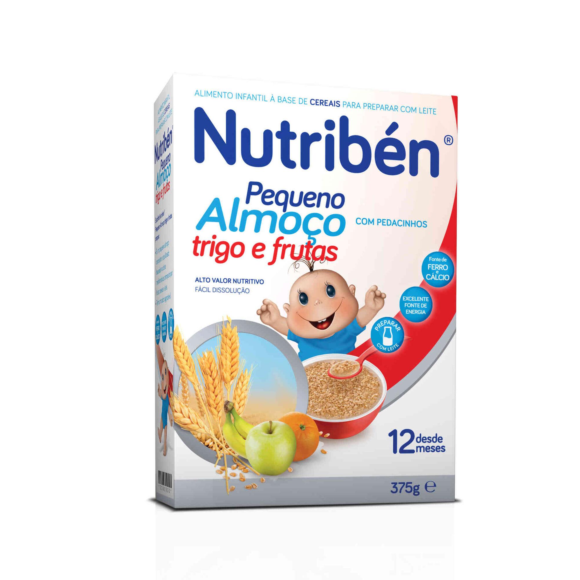 Papa Infantil Trigo e Frutas Pequeno Almoço +12 Meses