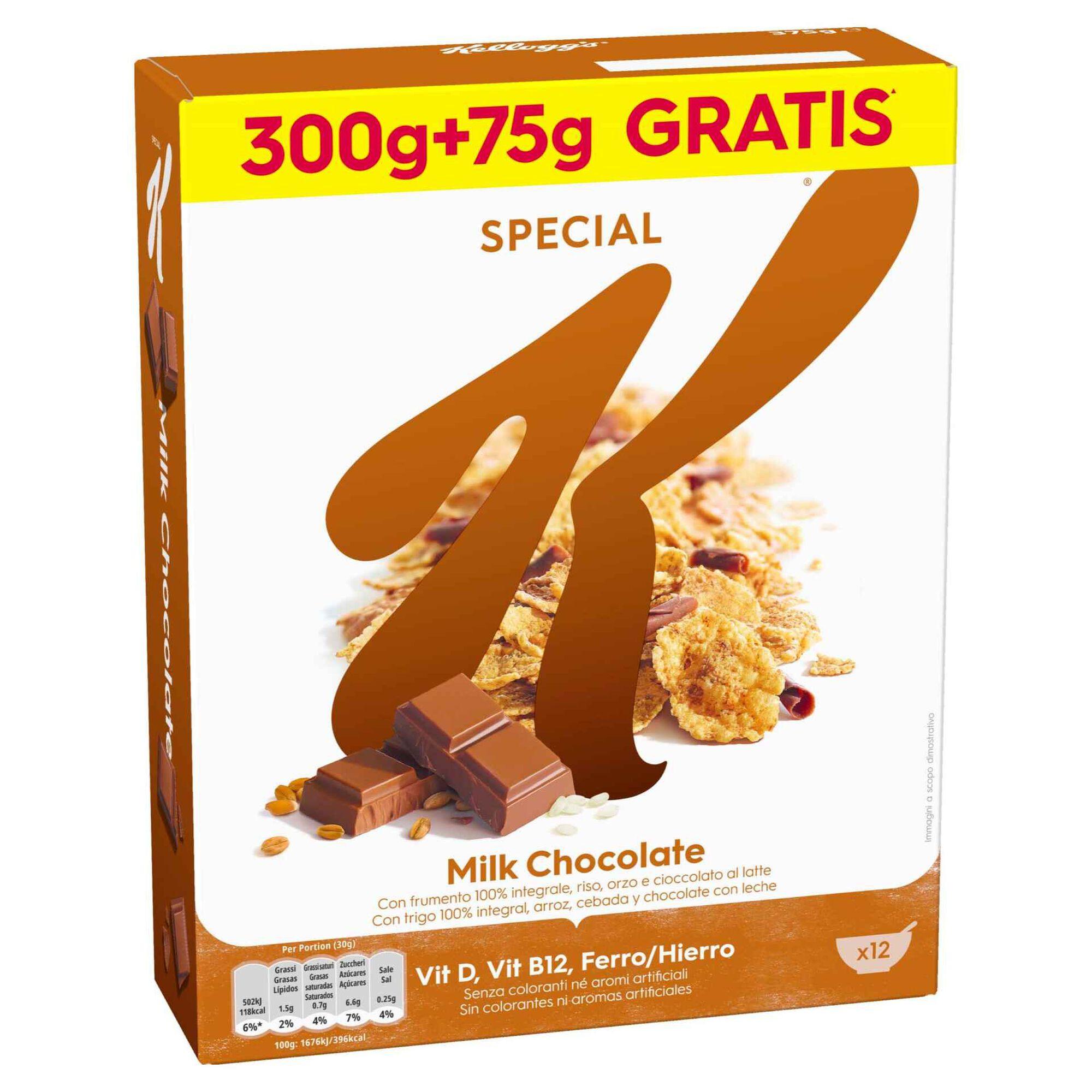 Cereais Special K Chocolate Leite