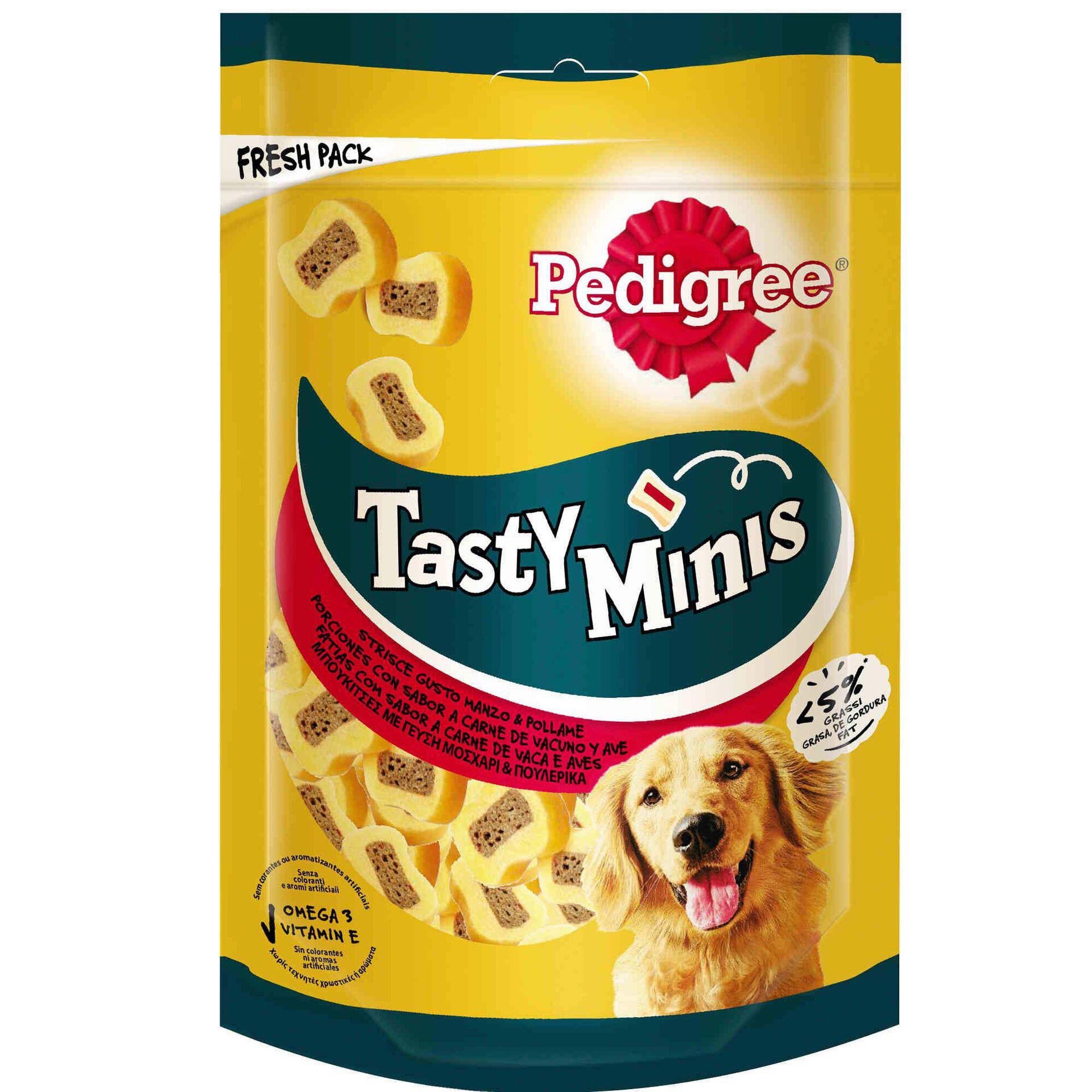 Snack para Cão Tasty minis Chew Slic