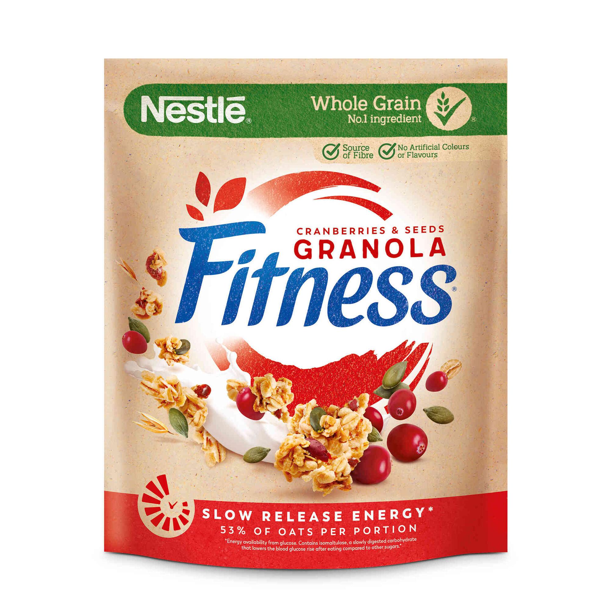 Granola Arandos e Sementes de Abóbora Fitness